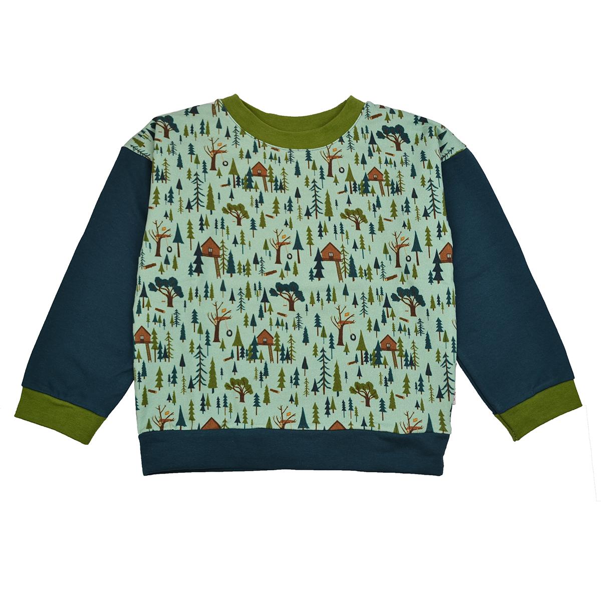 Baba Kidswear Boy Sweater Treehouse