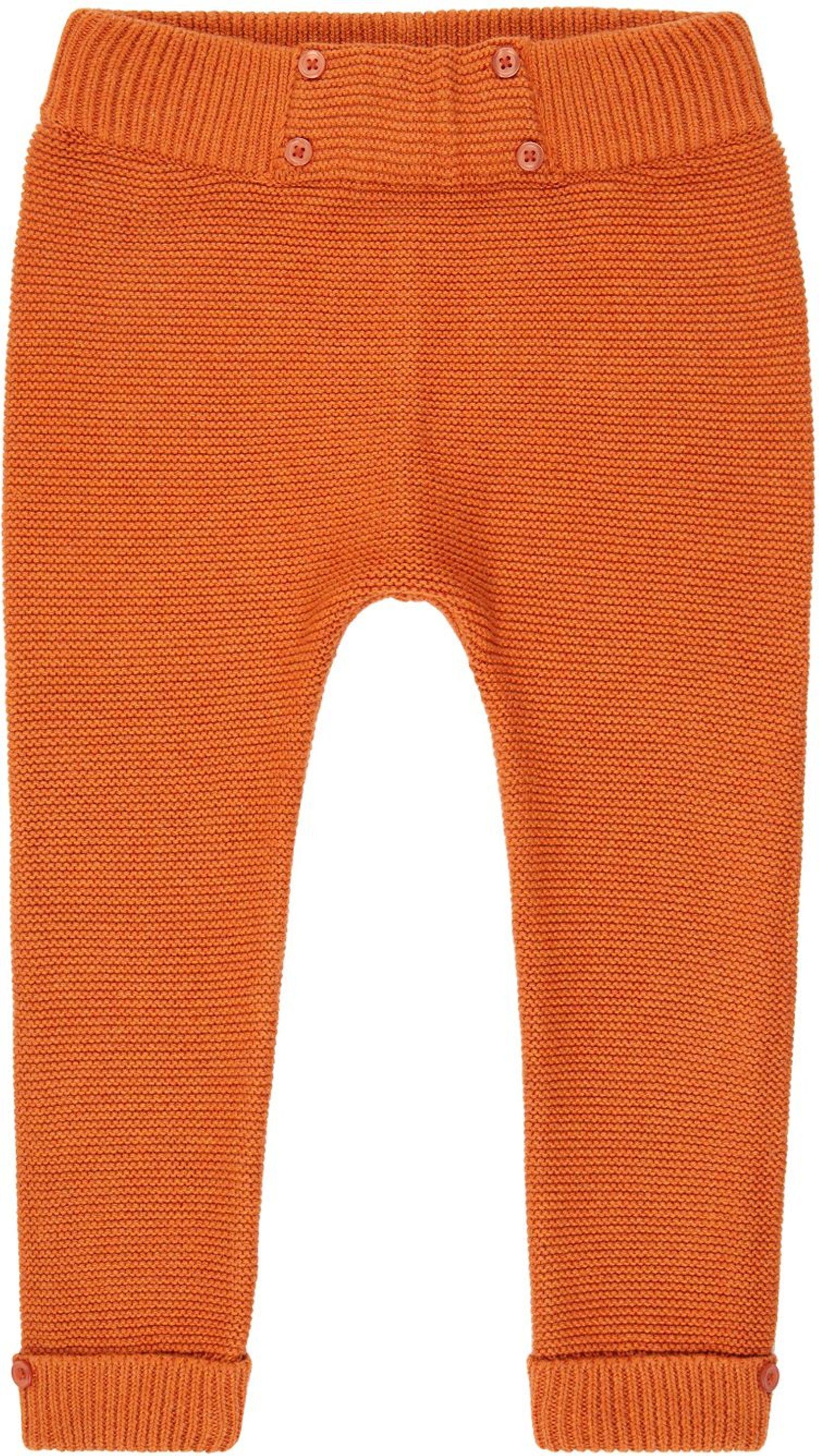Sense Organic PROUST Baby Knitted Hose rusty orange