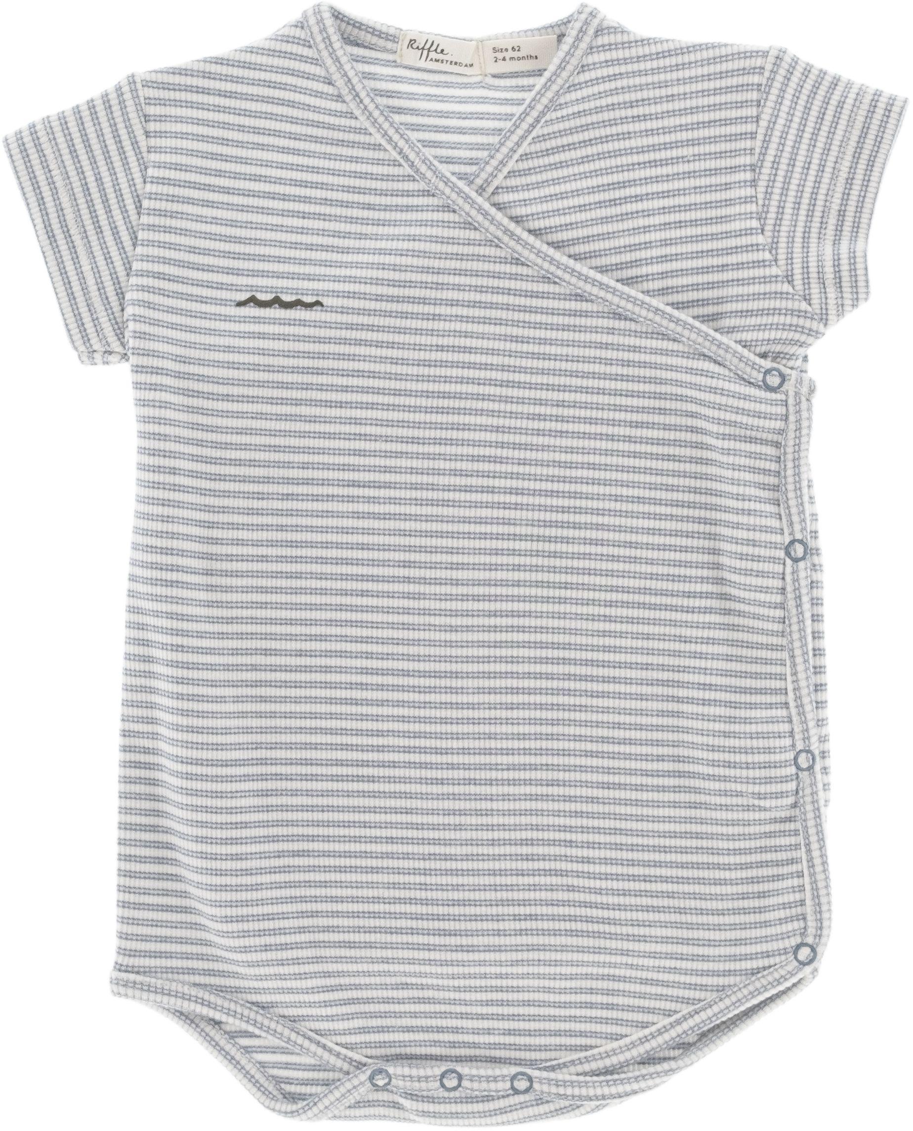 Riffle Amsterdam Body kurz blue stripe