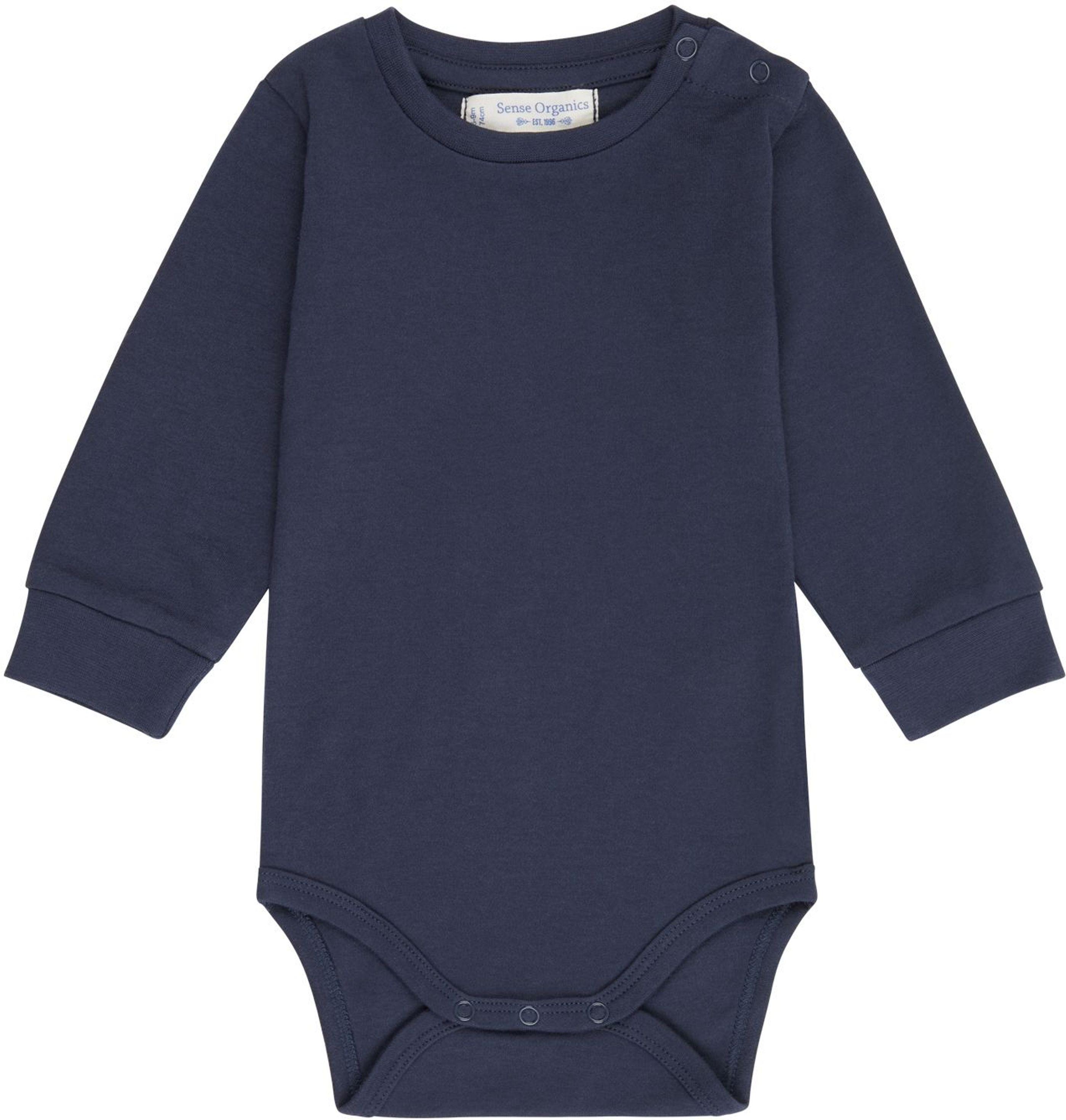 Sense Organic MILAN Baby Body L/S navy