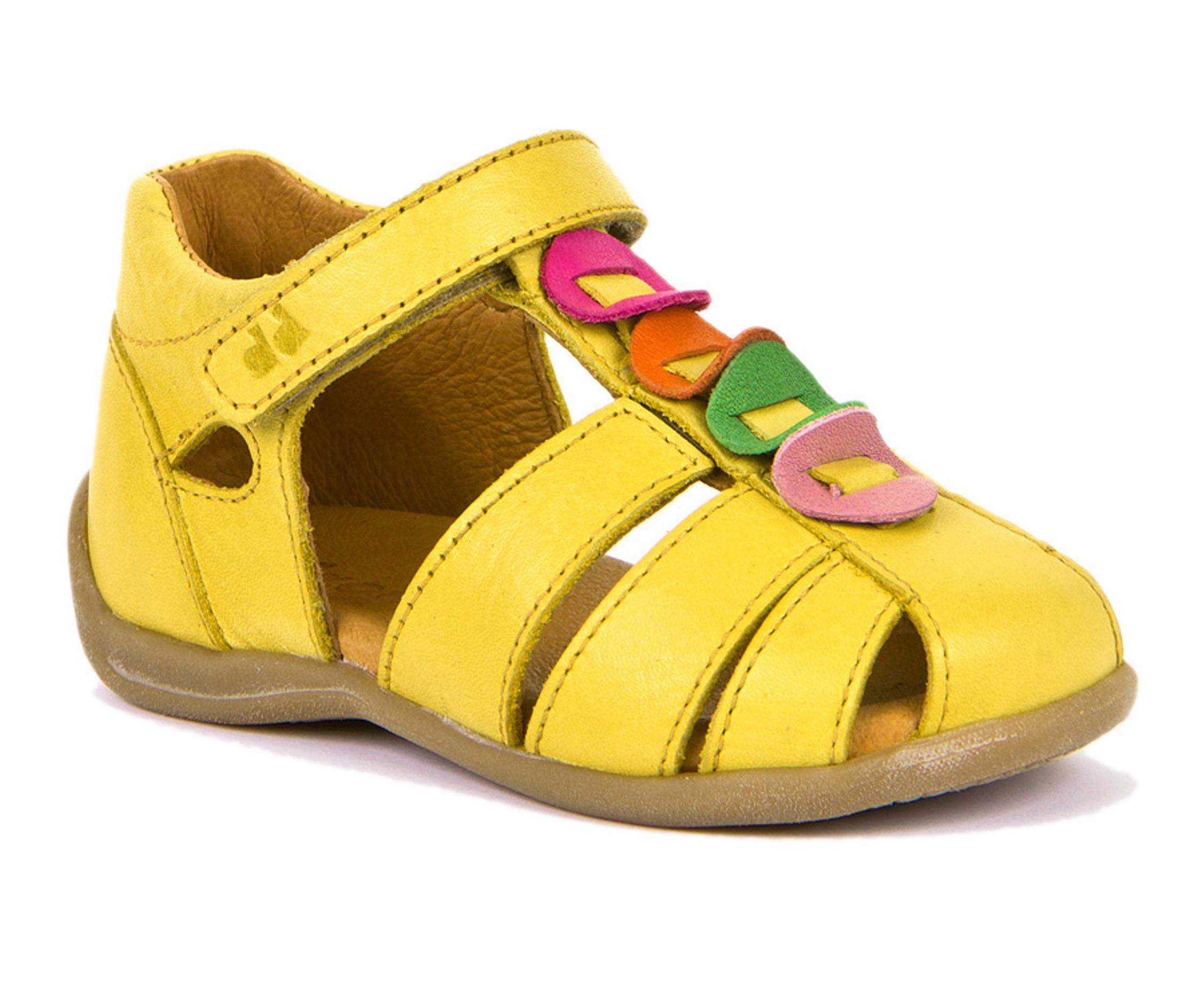 Froddo Lauflerner Sandale Gelb