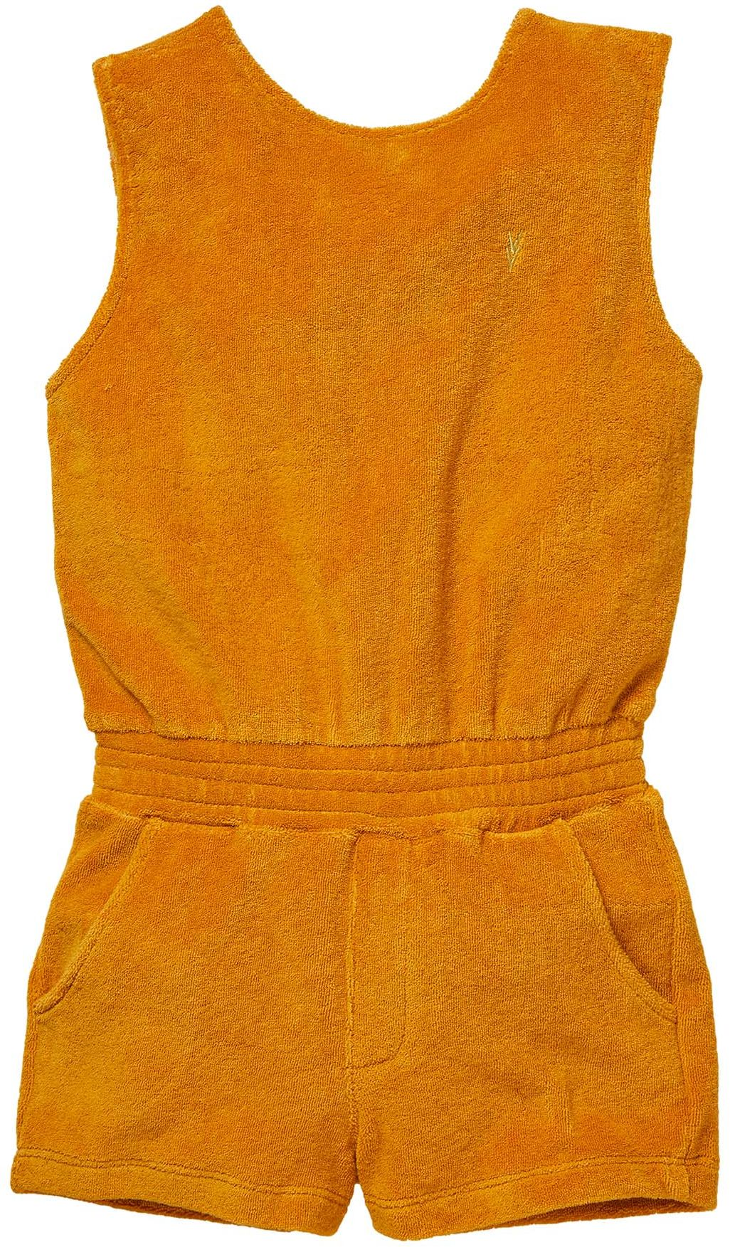 LEVV by Quapi Girl Jumpsuit mustard