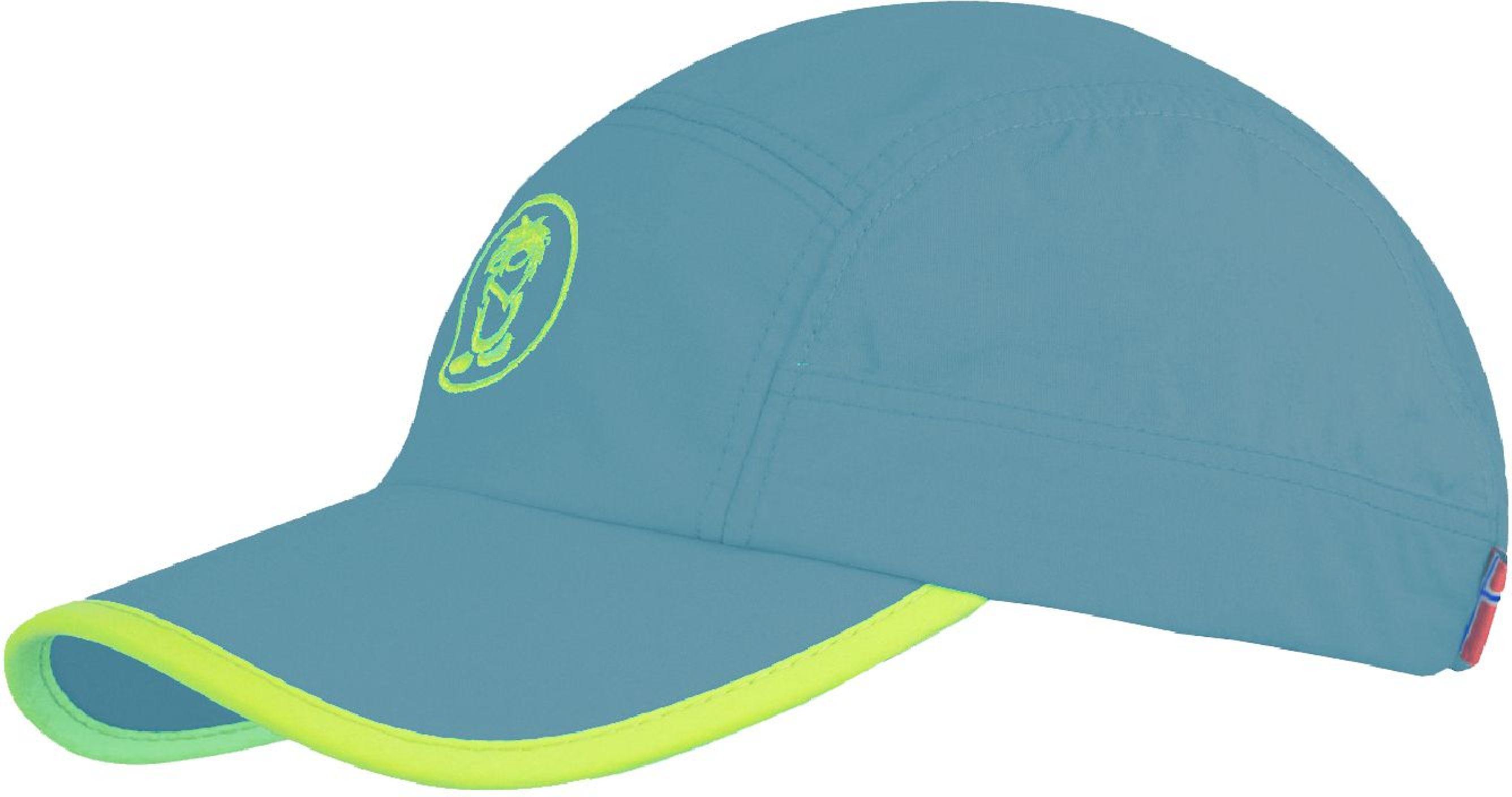 Trollkids Troll Cap dolphin blue/lime