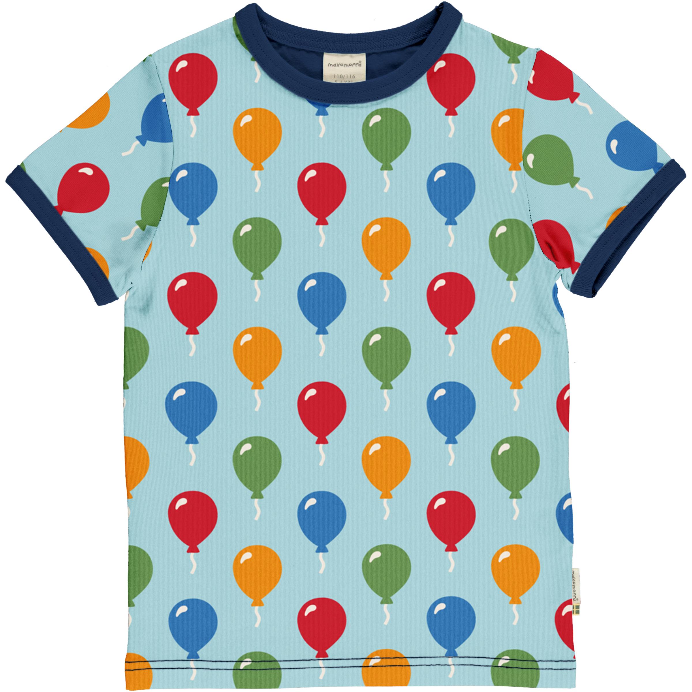 Maxomorra T-Shirt BALLOON 122/128