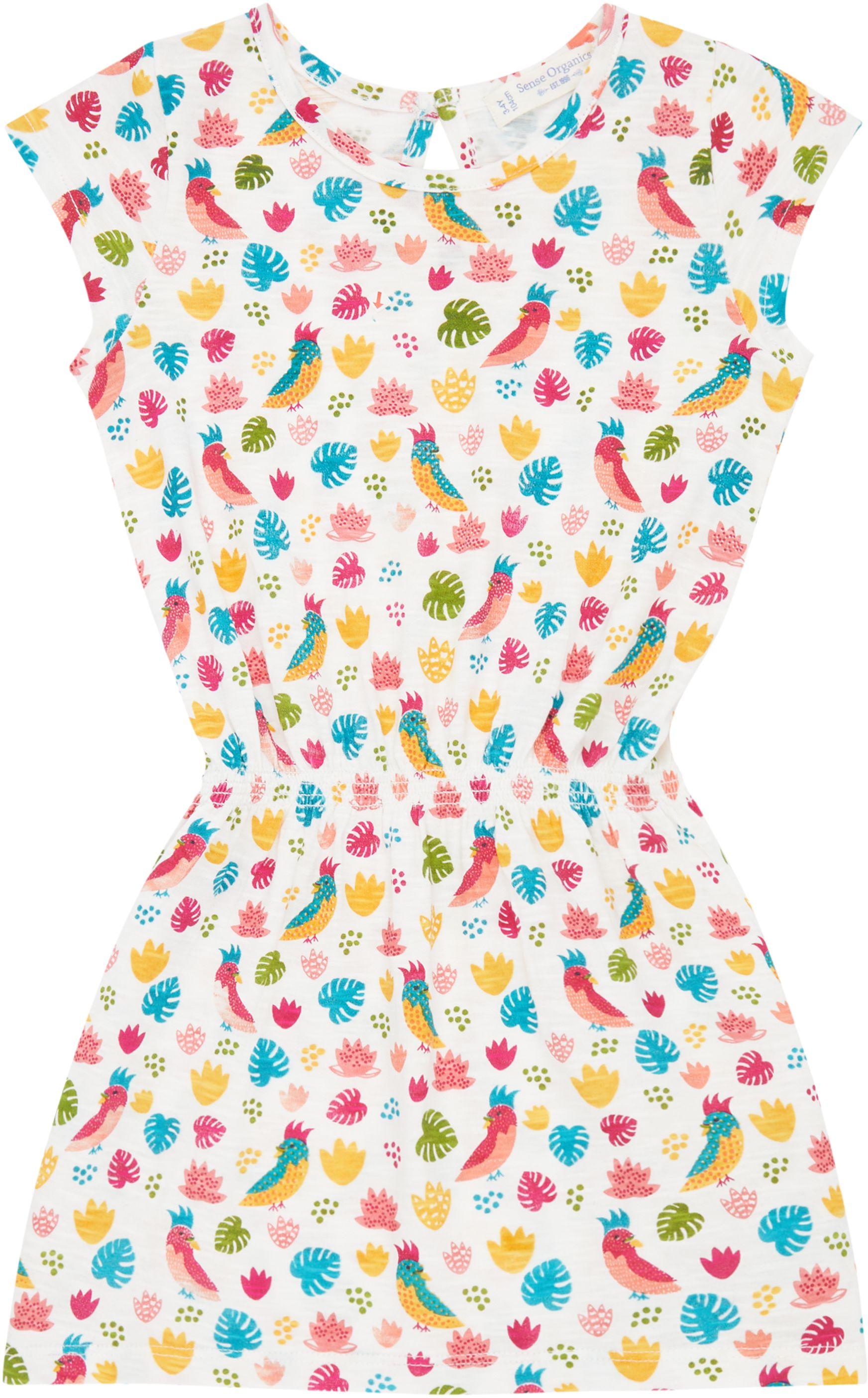 Sense Organic MELDA Dress Parrots