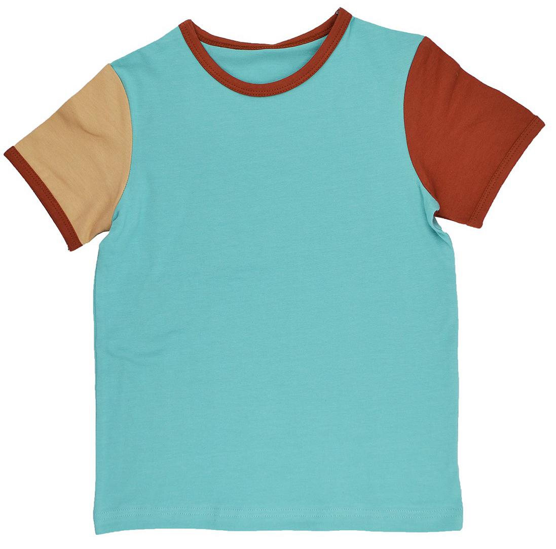 Baba Boy T-Shirt Multicolor aqua