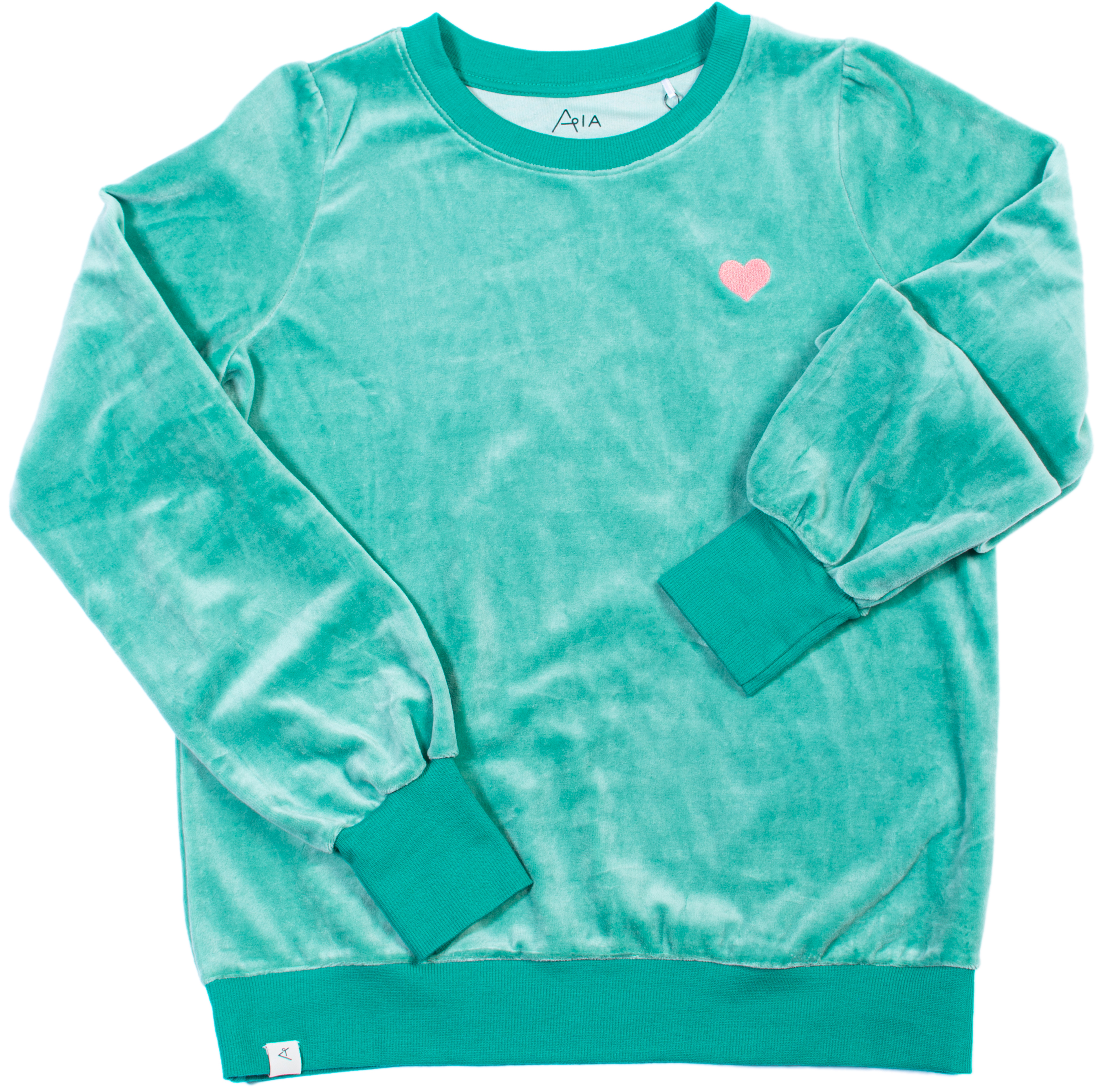AIA by AlbaBaby Damen Sweatshirt For a Cozy Day creme de menthe