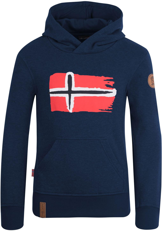 Trollkids Trondheim Sweater navy