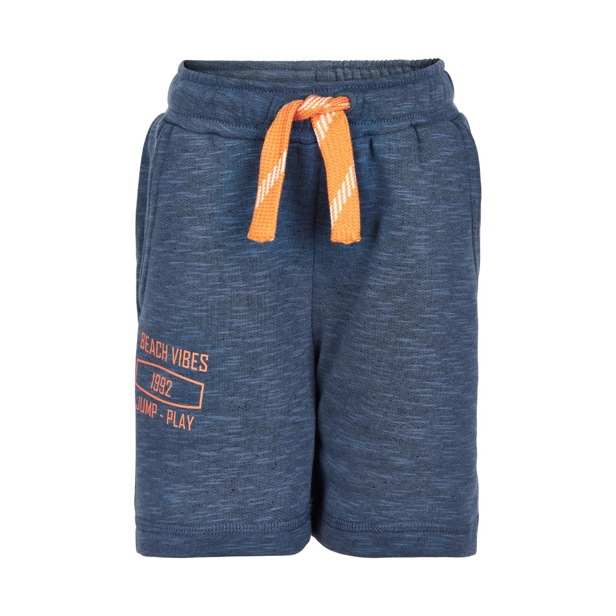 Minymo Boy Shorts Slub Bering Sea