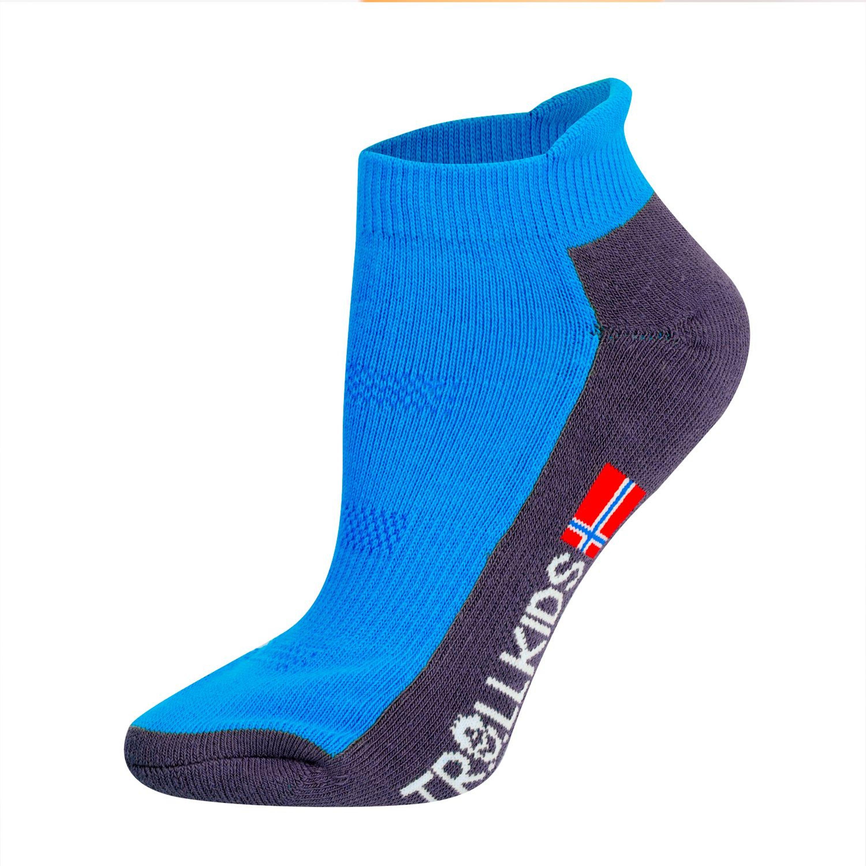 Trollkids Hiking Low Cut Socks II medium blue