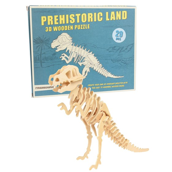 Rex International Puzzle 3D Dinosauruer T-Rex