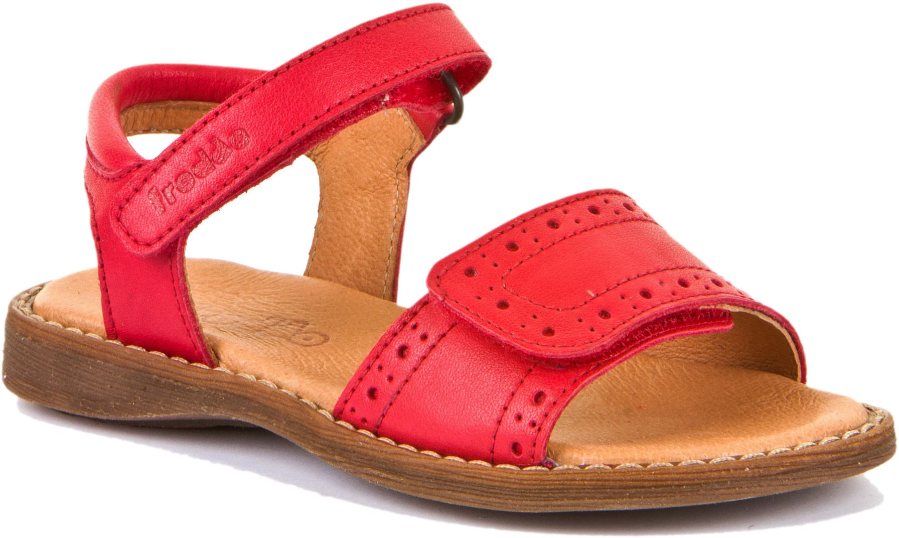 Froddo Mädchen Sandale Classic Rot