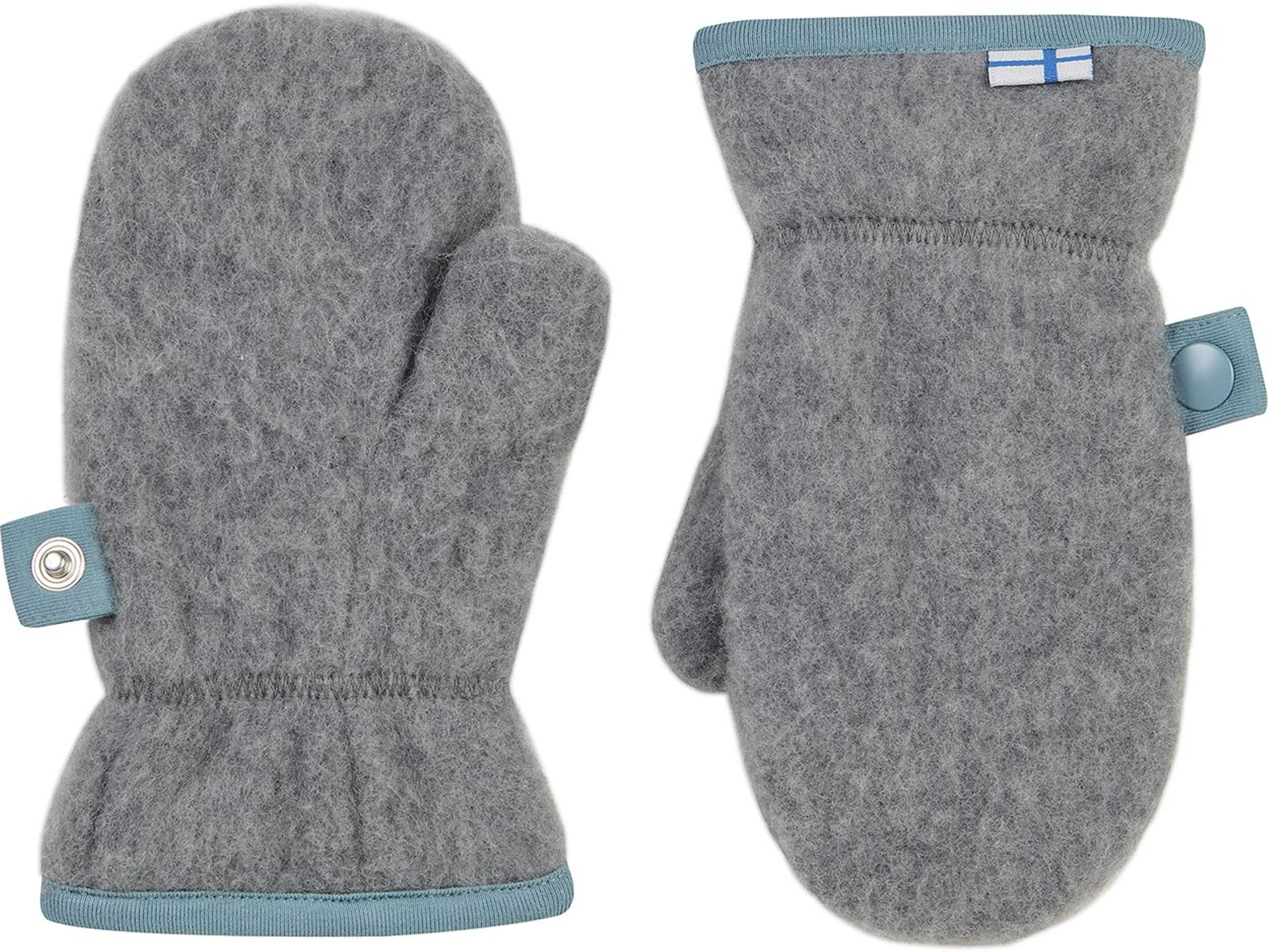 Finkid Fausthandschuh NUPUJUSSI WOOL charcoal
