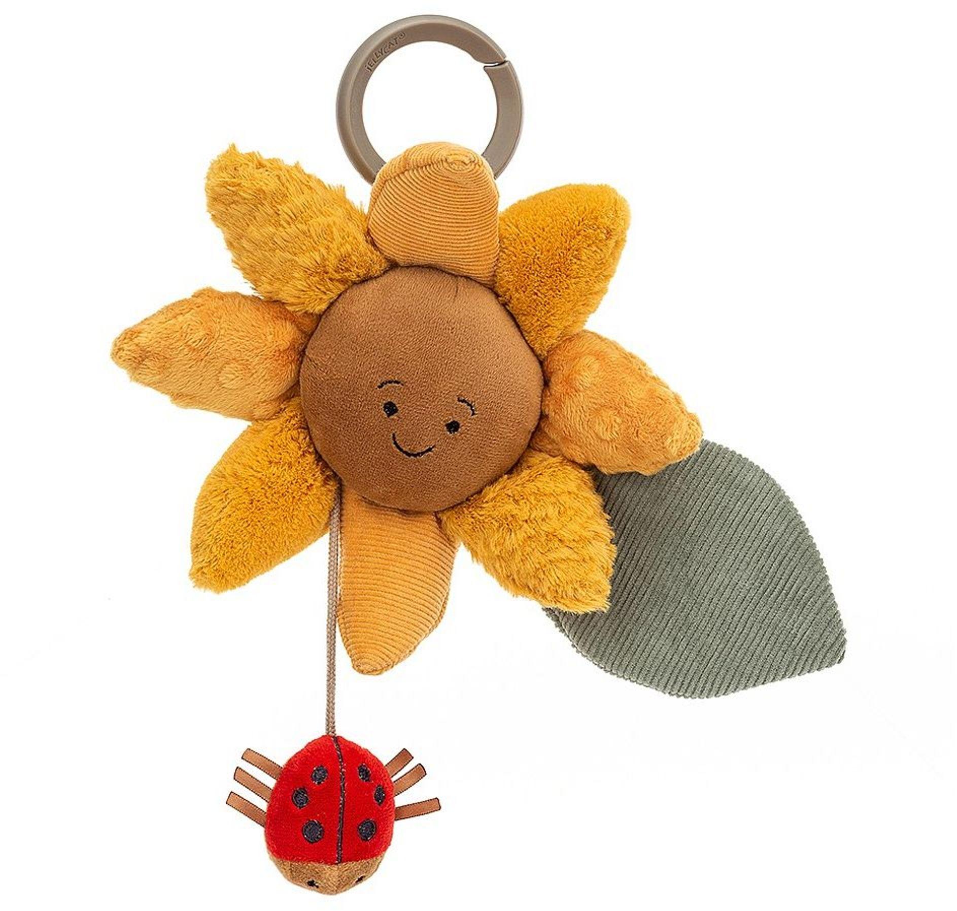 Jellycat Activity Toy Fleury Sunflower 20 x 20 cm