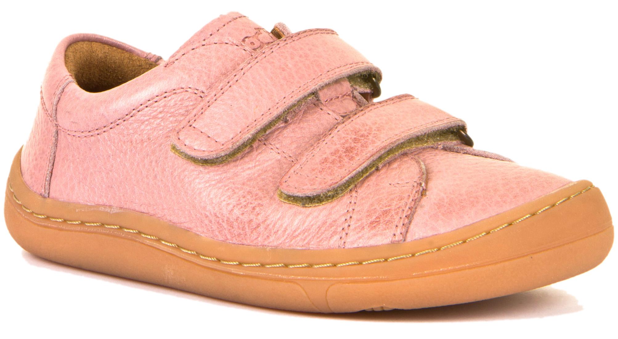 Froddo Barfuß Kinderschuh Doppelklett Pink