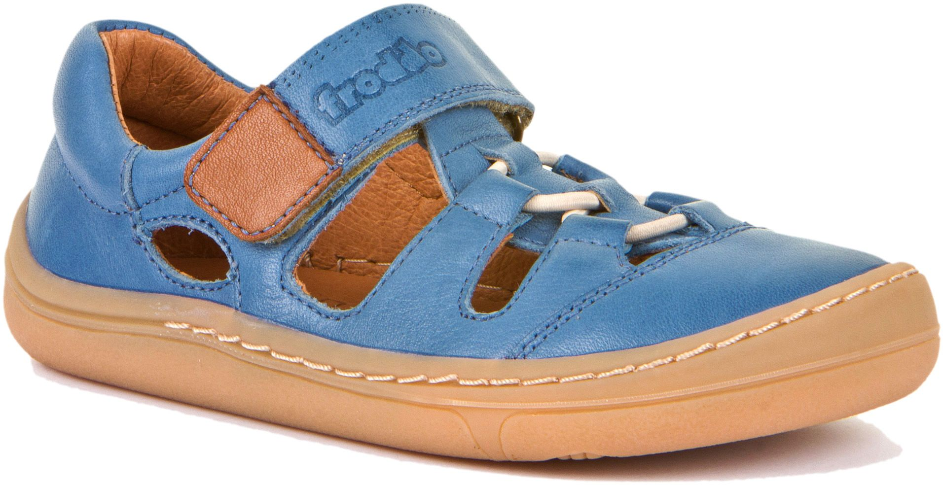 Froddo Barfuß Sandale Doppelklett Jeans
