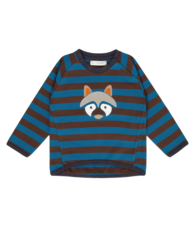 Sense Organic Baby Sweater ETU Raccoon