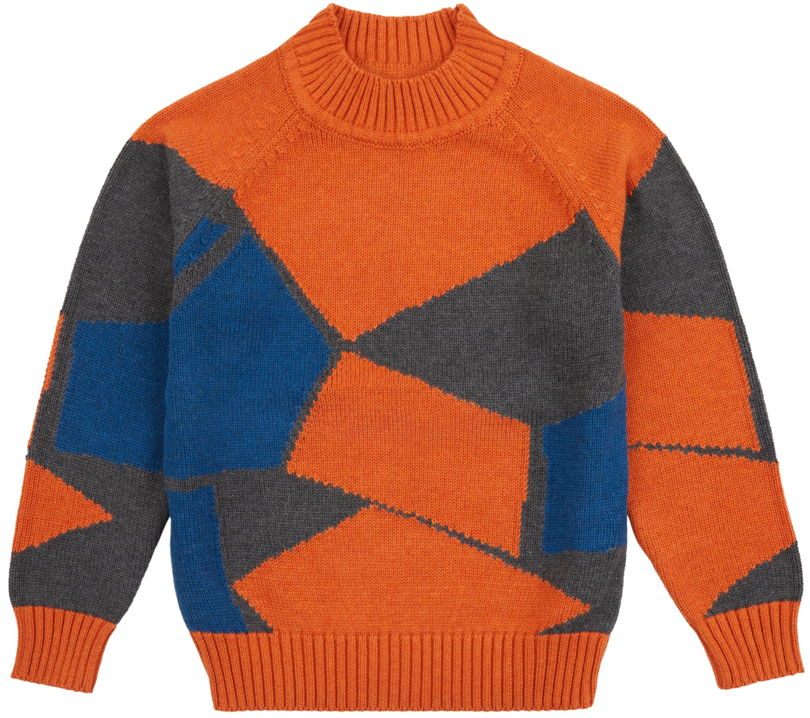 Sense Organic KURUK Pullover rusty orange