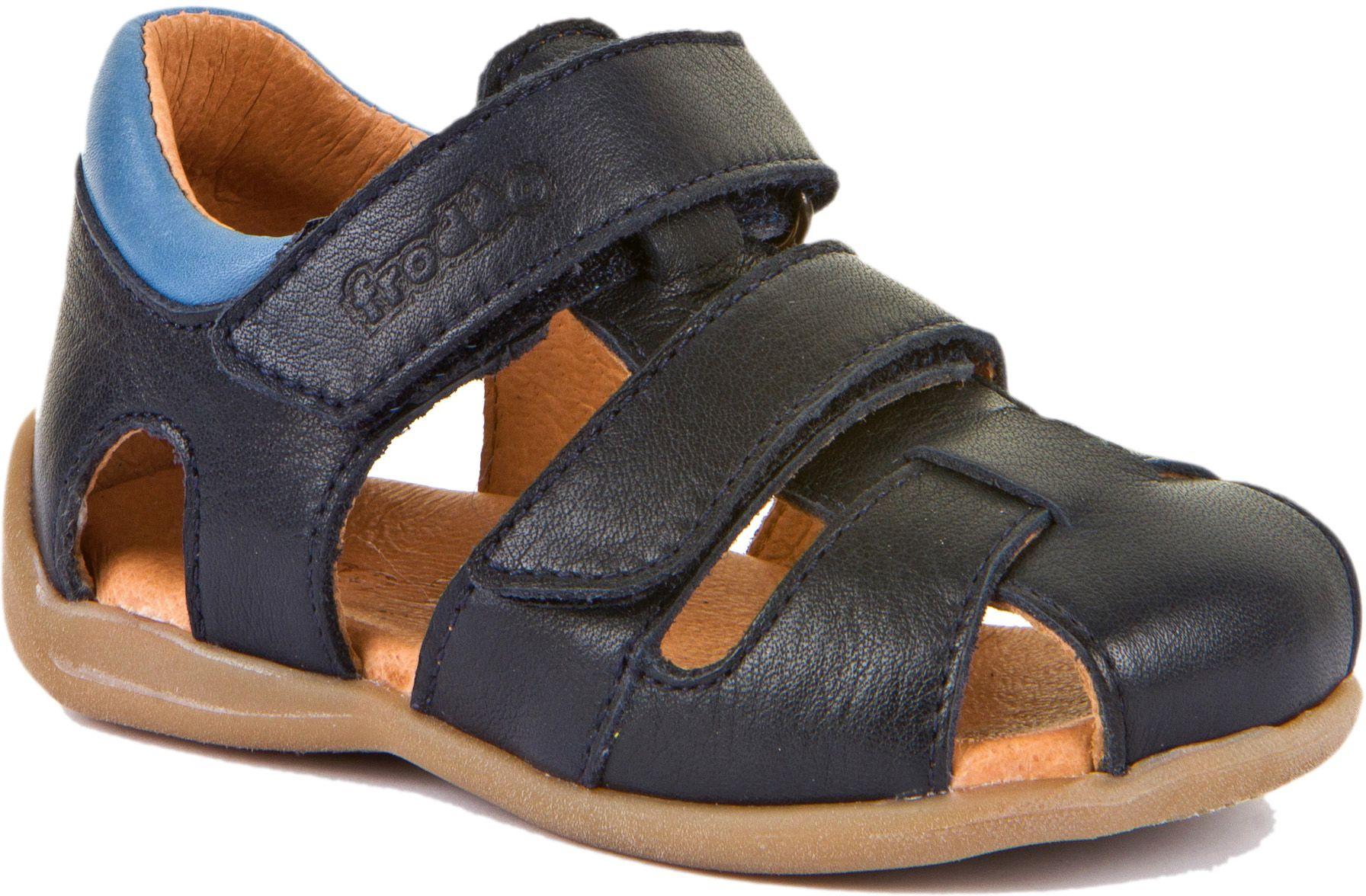 Froddo Lauflerner Sandale Doppelklett Dunkelblau