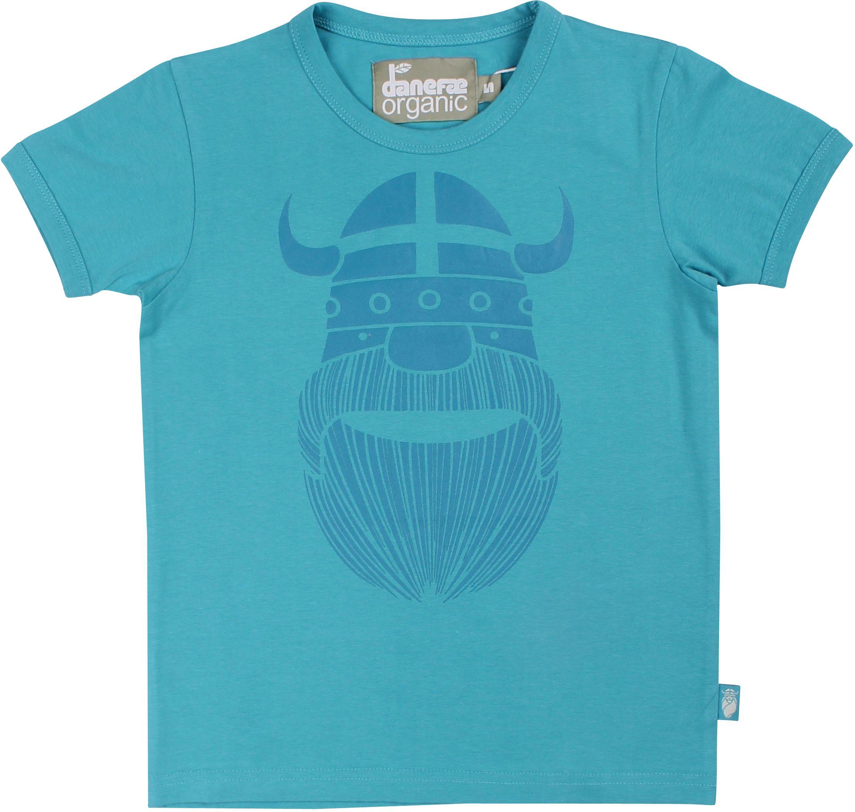 Danefae Boy T-Shirt Organic Merian rainblue