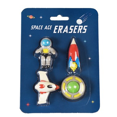 Rex London Radiergummis Space Age 4erSet