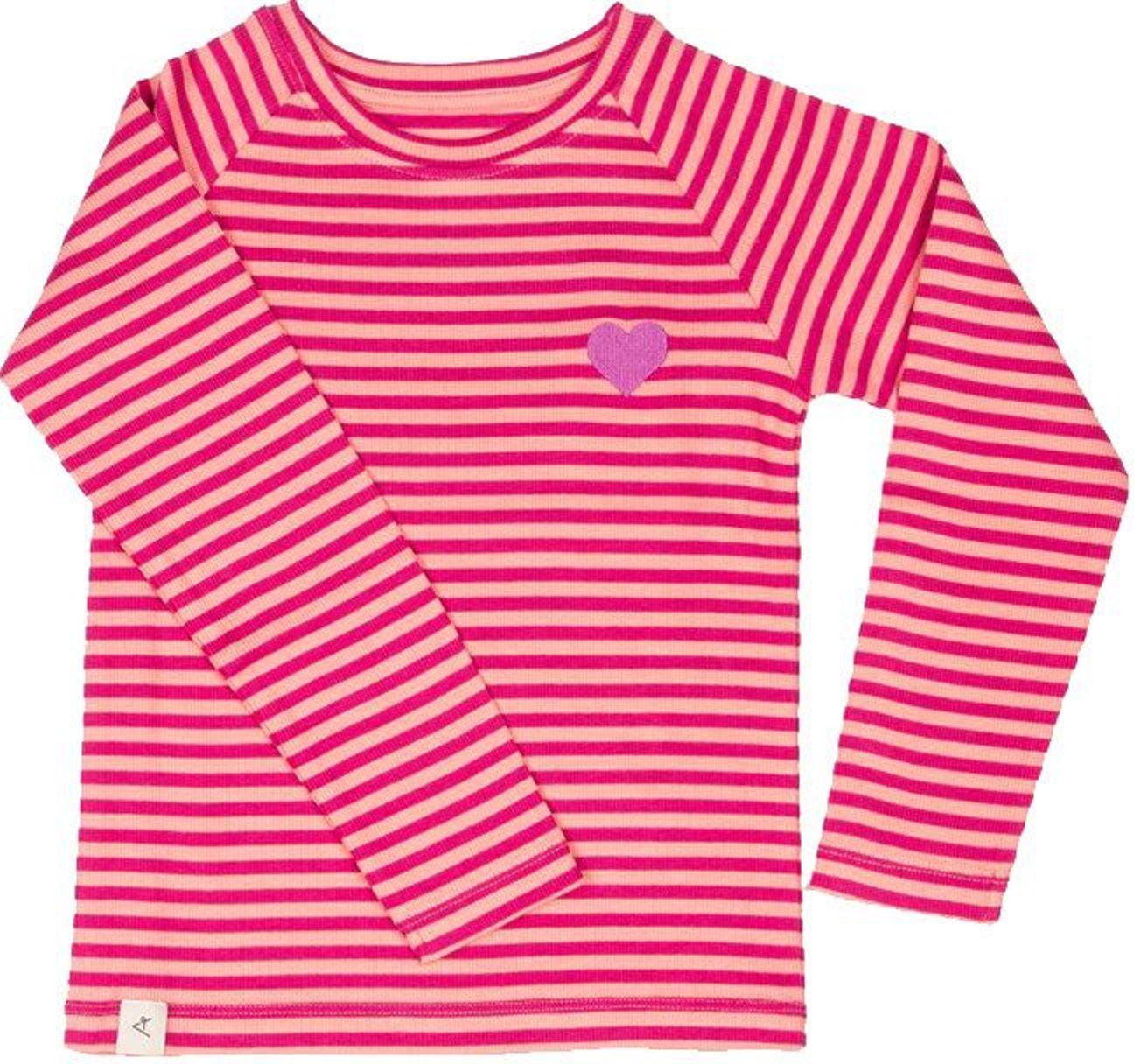 Alba of Denmark Girl Langarmshirt All You Need small stripes