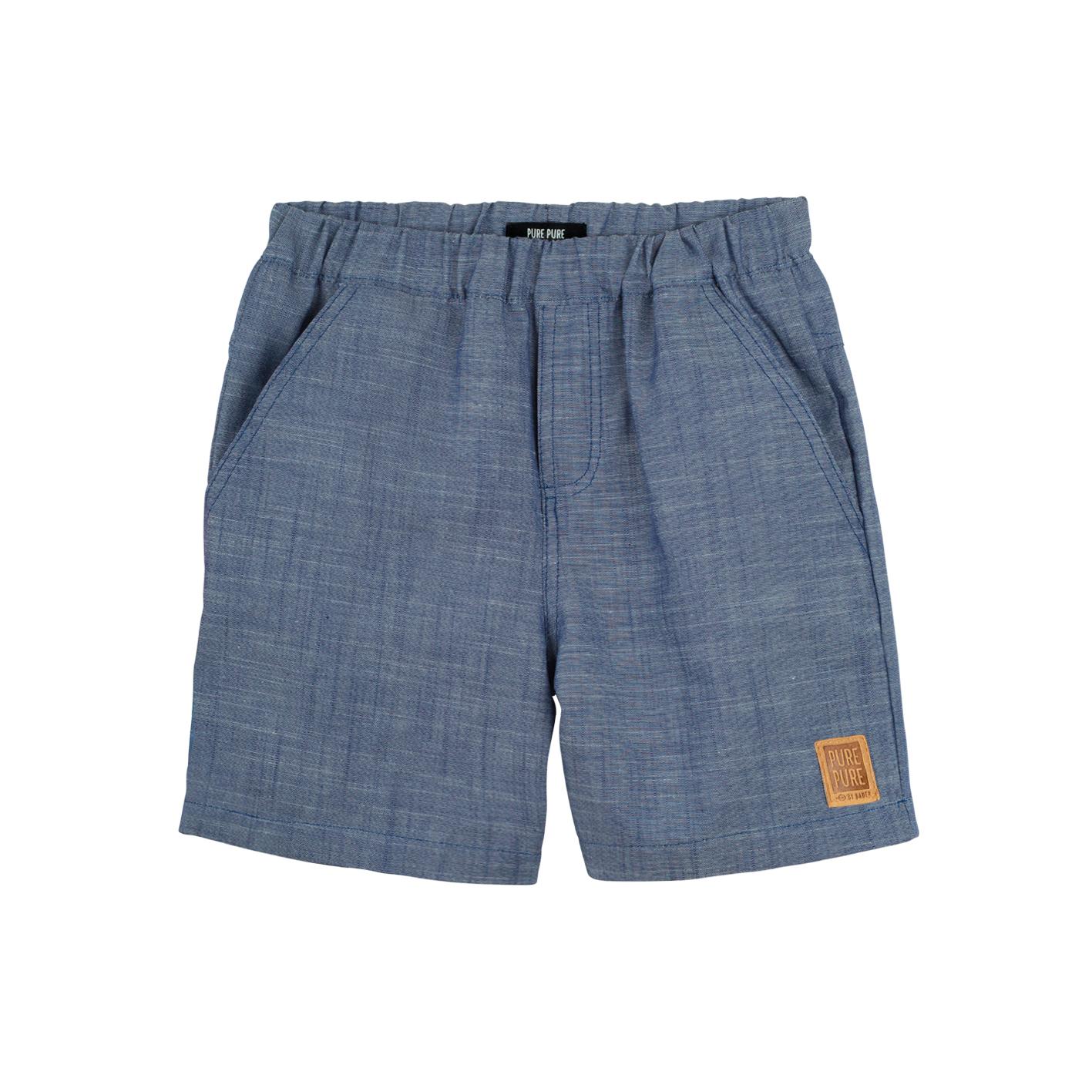 Pure Pure Shorts jeans-blau