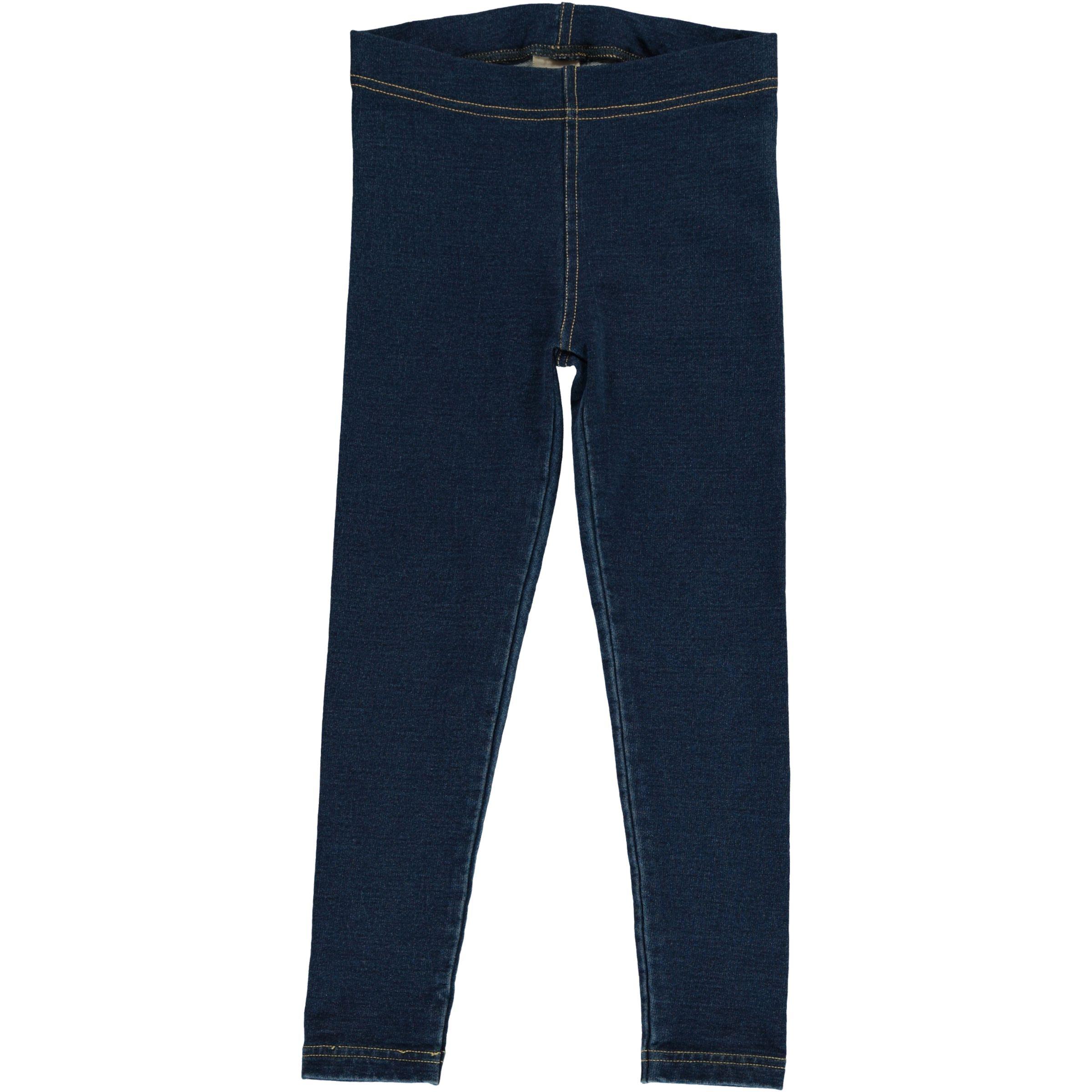 Maxomorra Leggings Sweat Solid INDIGO 098/104