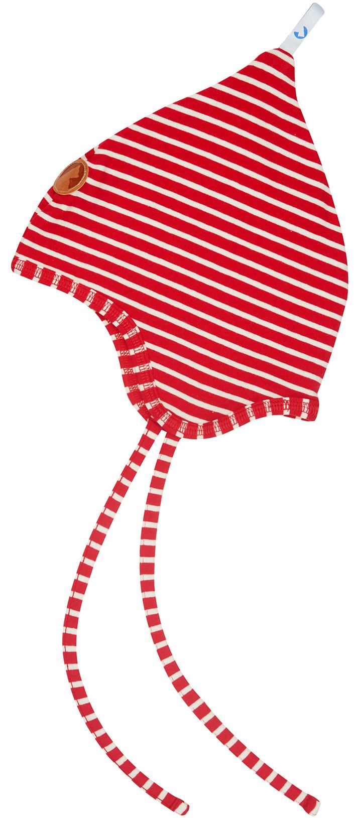 Finkid Baby Mütze POPILI red/offwhite