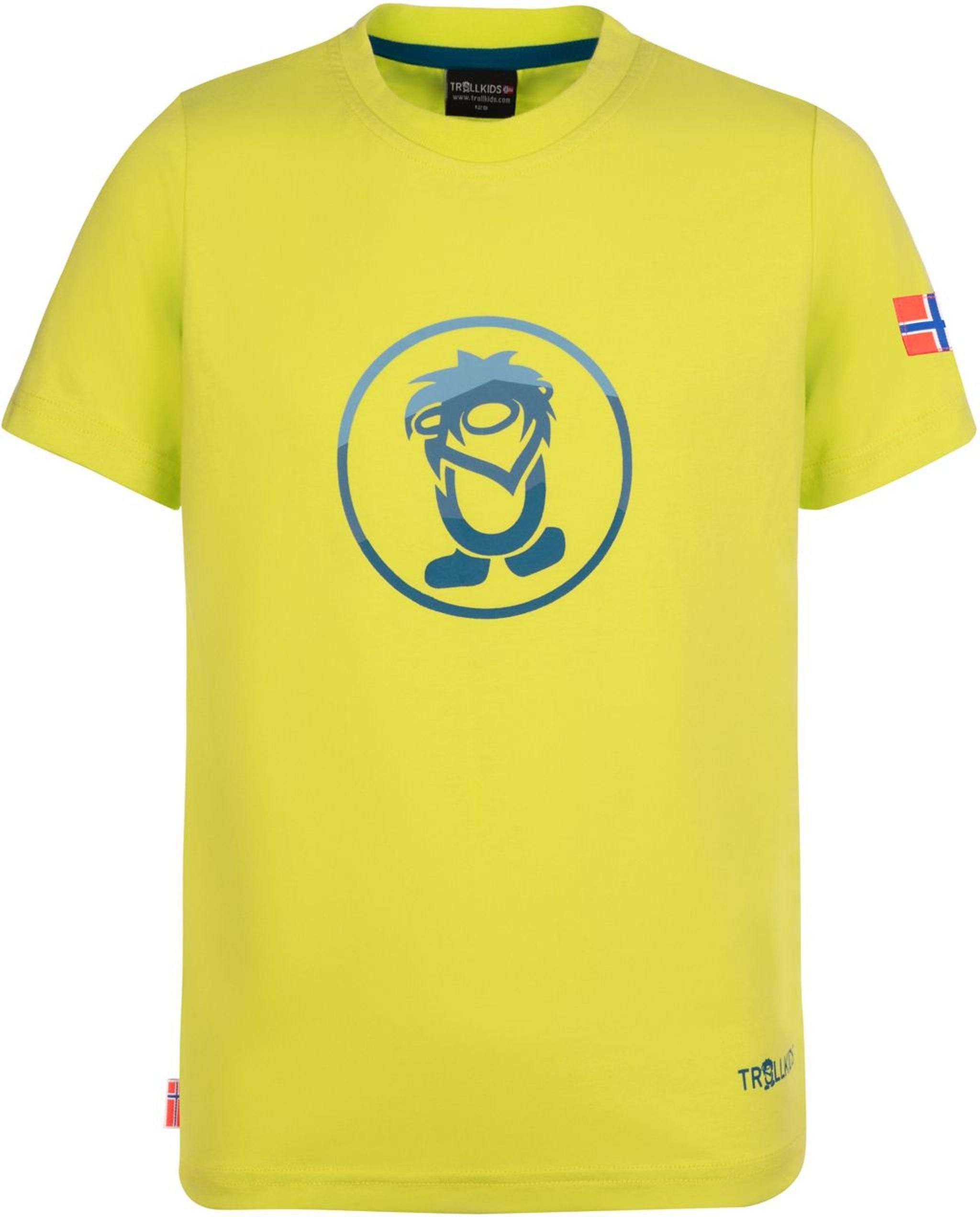 Trollkids Summer Troll T-Shirt spicy lime/petrol