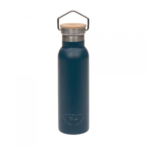 Lässig Isolierflasche Stainless Steel Adventure blue
