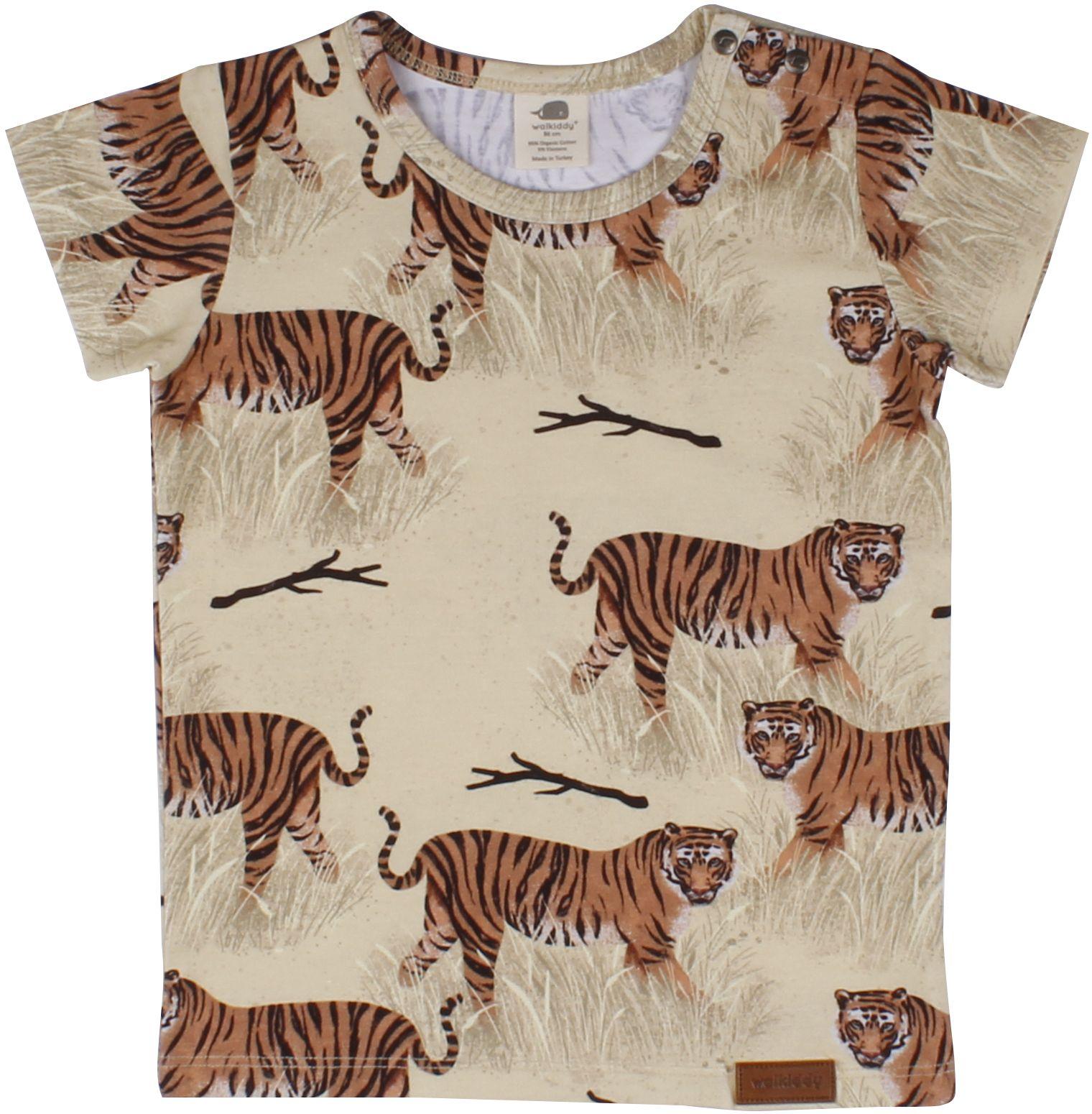 Walkiddy Kurzarmshirt Tigers