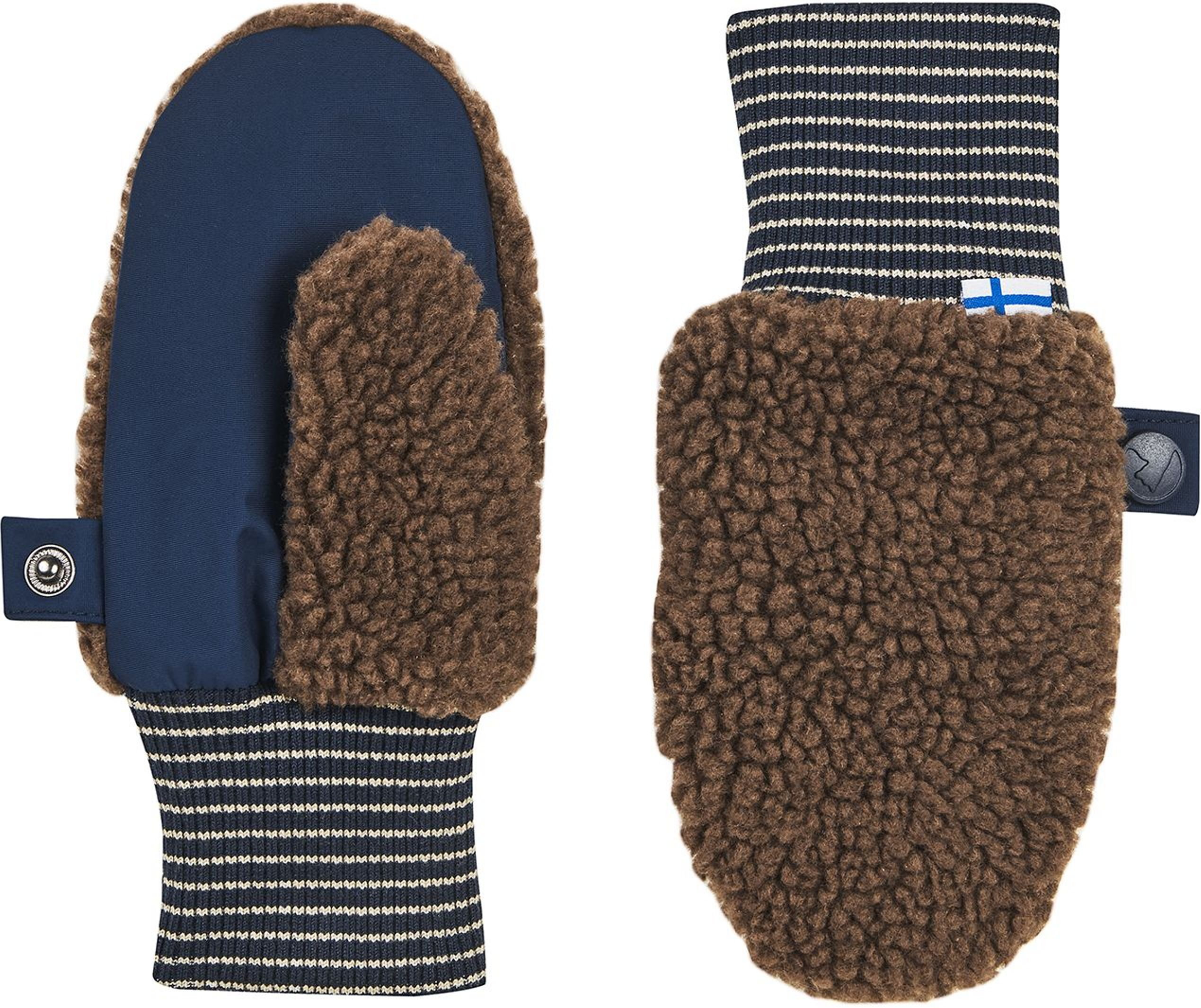 Finkid Faushandschuh NUPUJUSSI TEDDY cocoa