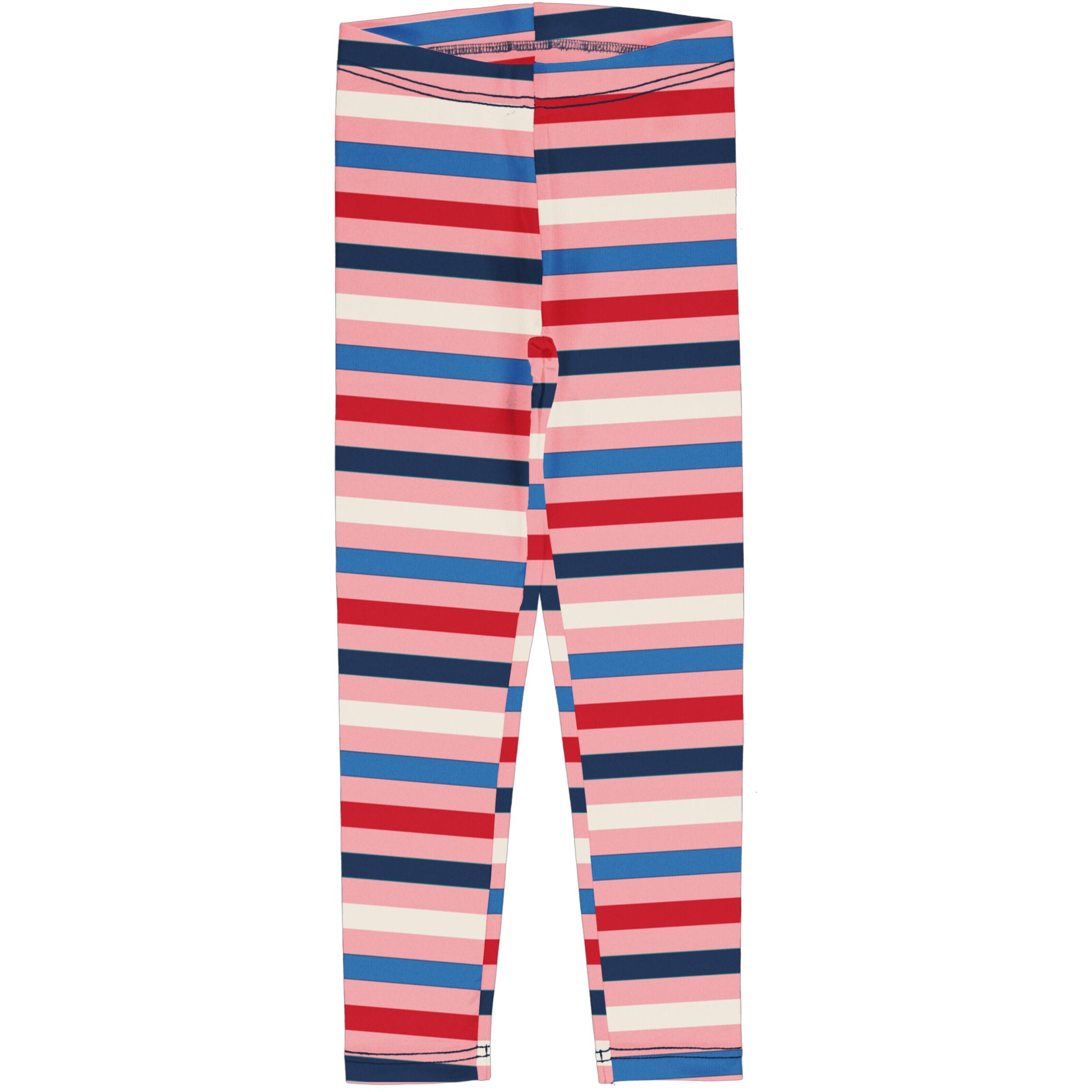 Maxomorra Leggings Stripe BLOSSOM 098/104