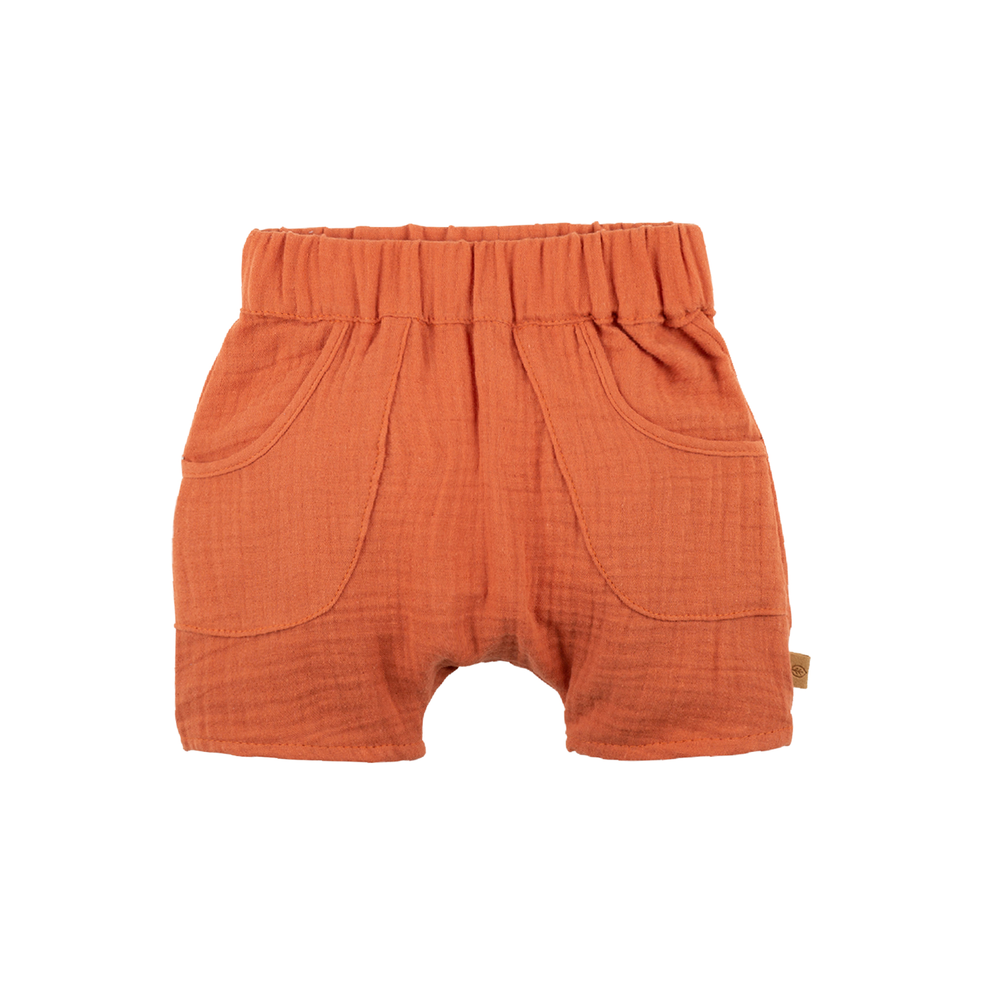 Pure Pure Baby Shorts papaya