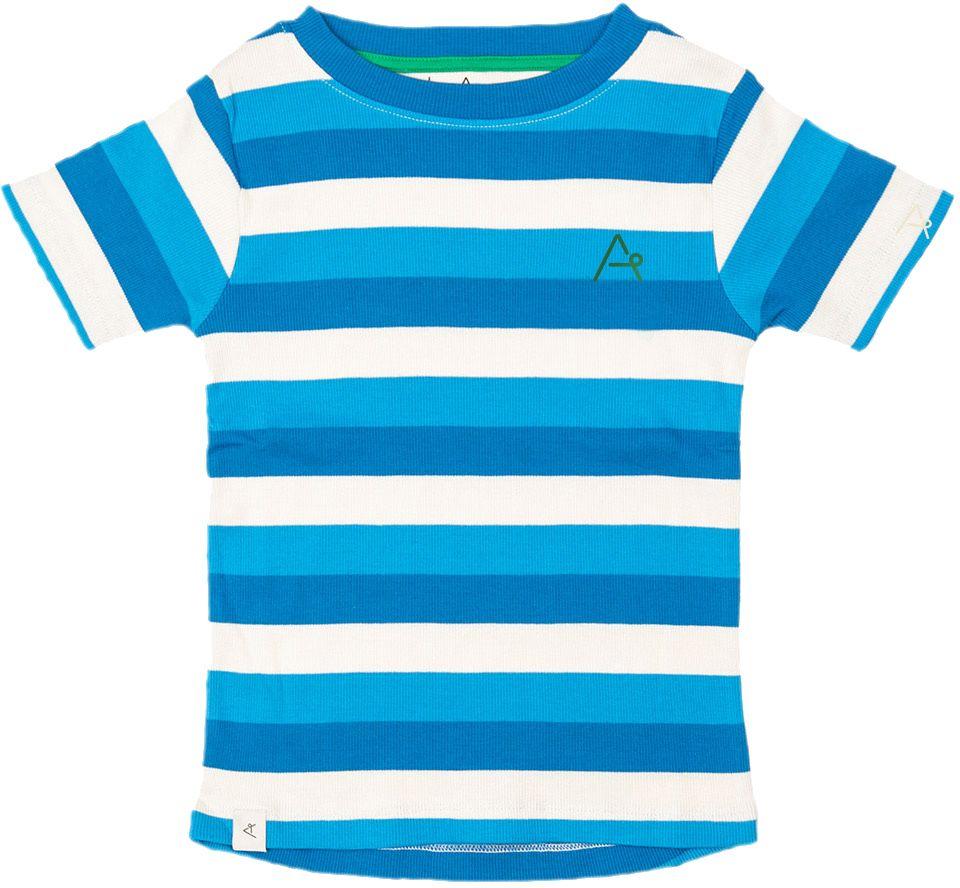 Alba of Denmark Boy T-Shirt The Bell blue stripes
