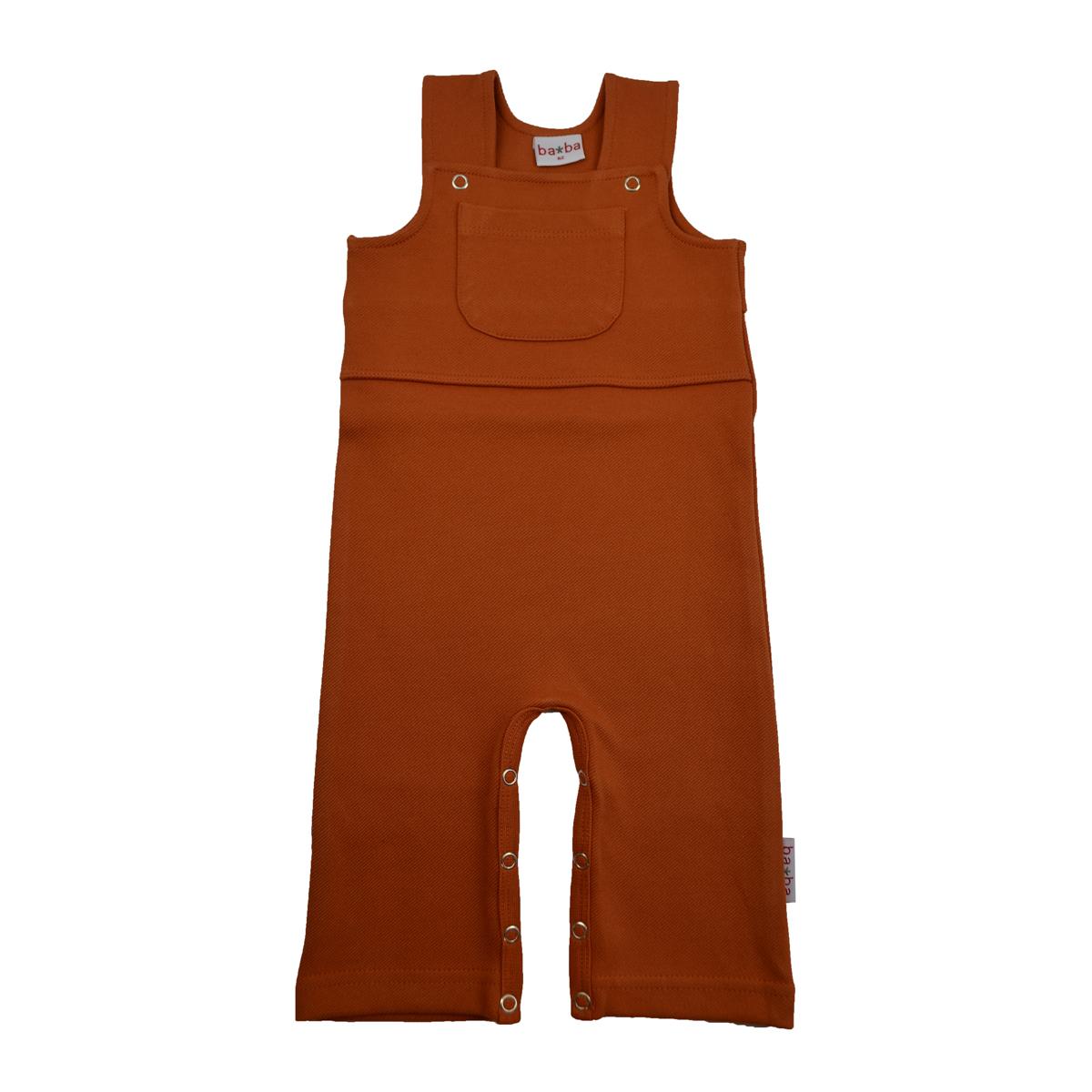 Baba Kidswear Baby Latzhose Diagonal Rib autumnal