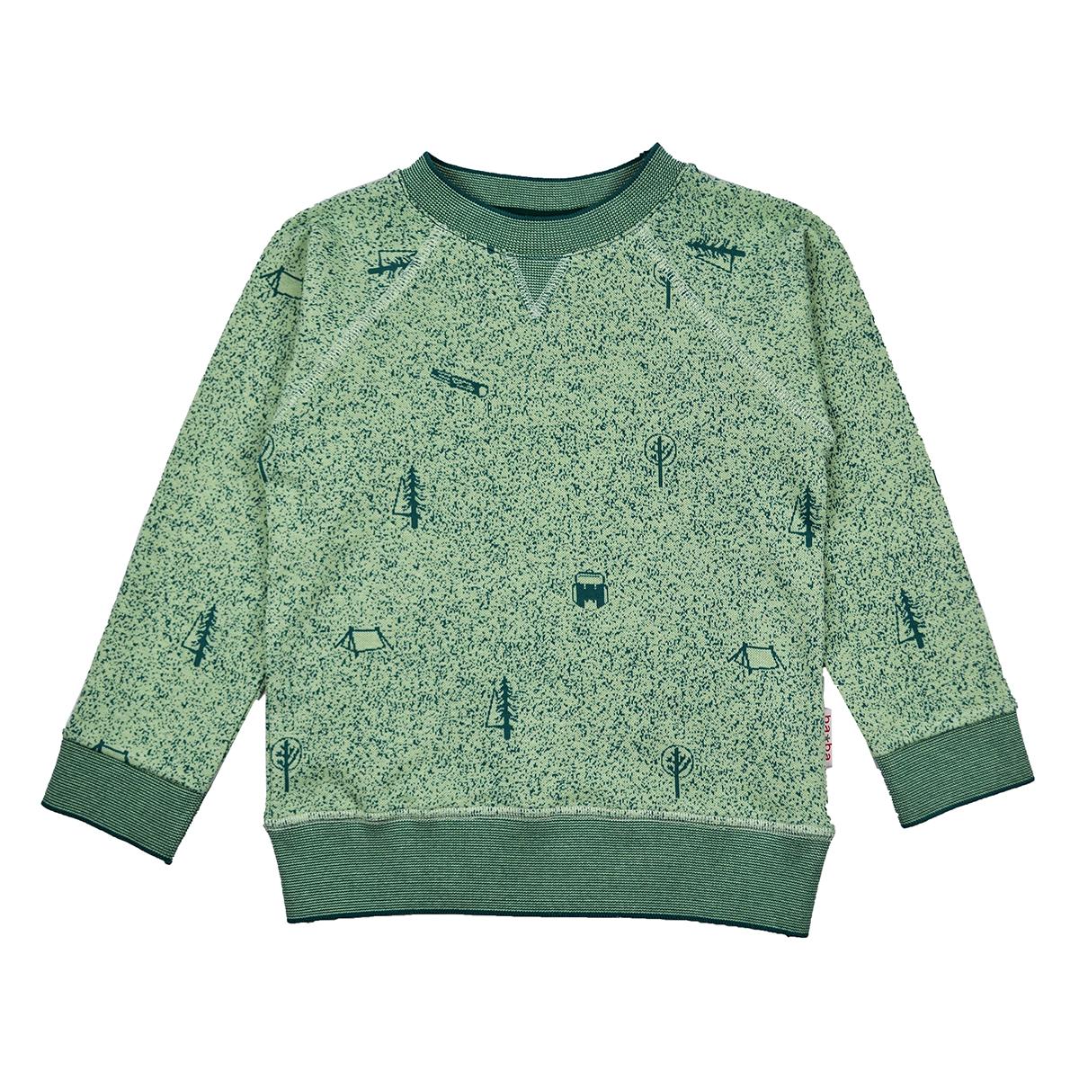 Baba Kidswear Boy Sweater Nature Green