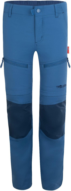 Trollkids Nordfjord Zip-off Pants Slim Fit midnight blue