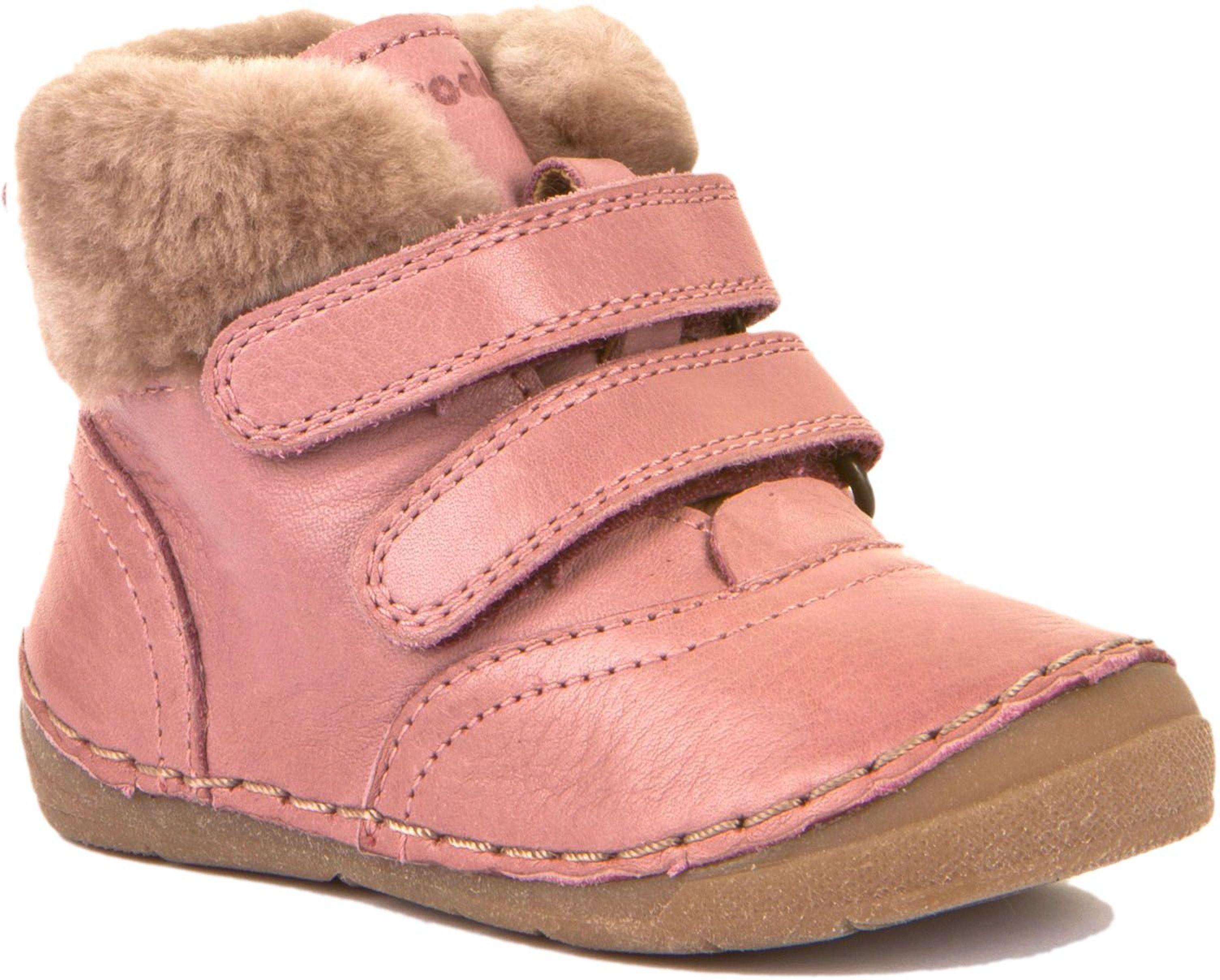 Froddo Baby Winterschuh P Furry Fellfutter Pink