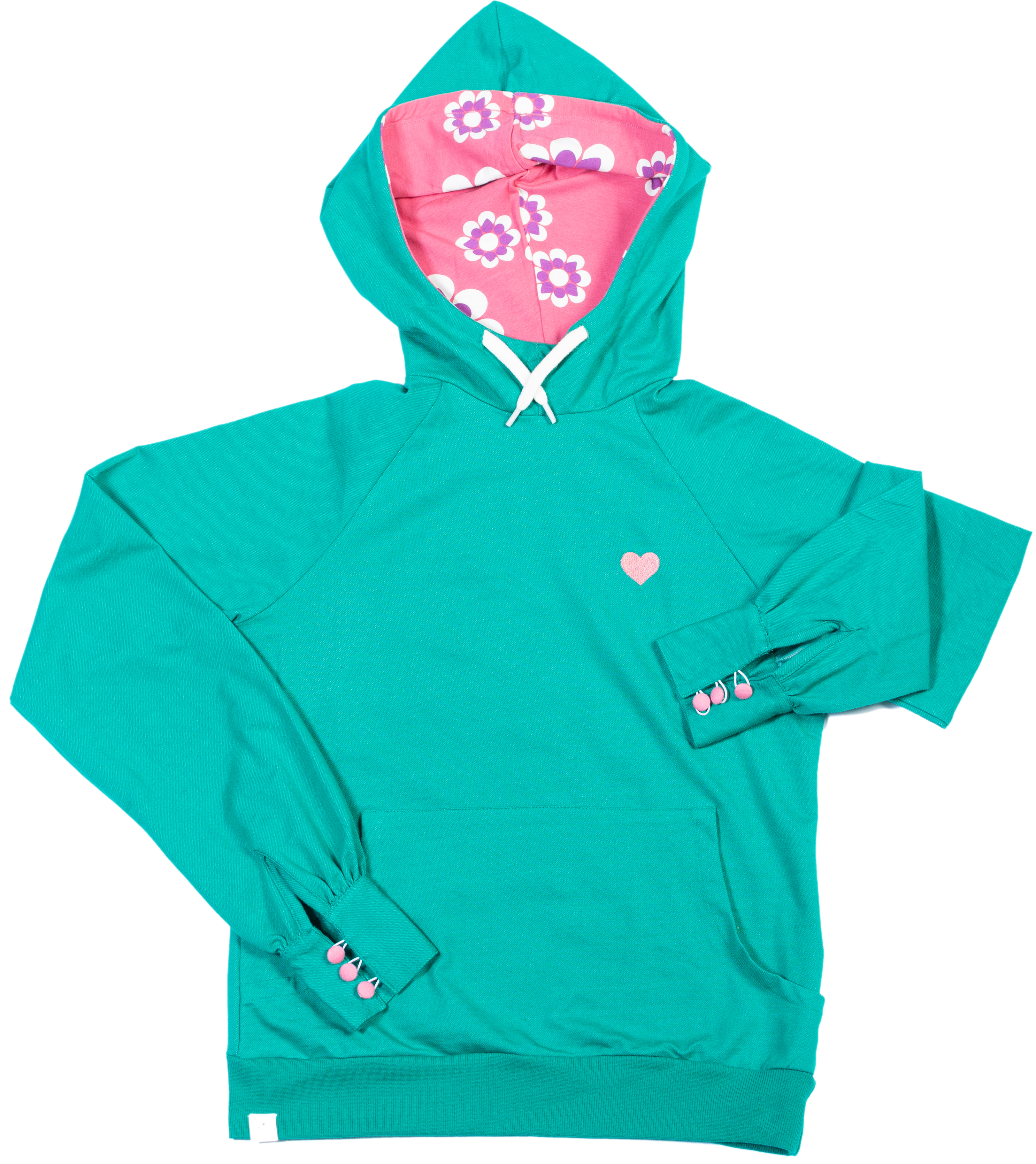 AIA by AlbaBaby Damen Hoodie My Favorite pepper green