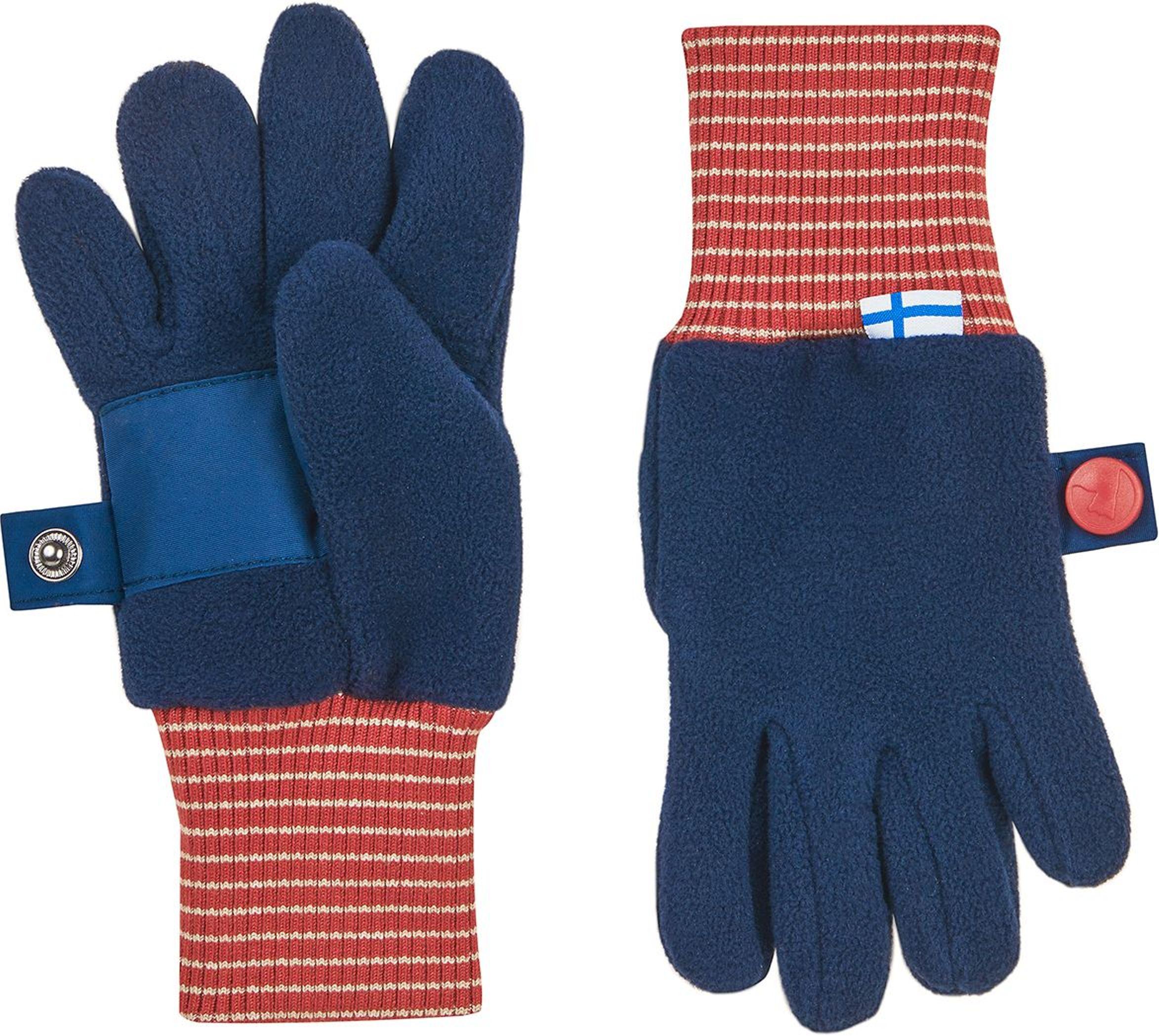 Finkid Fingerhandschuh Fleece SORMIKAS navy