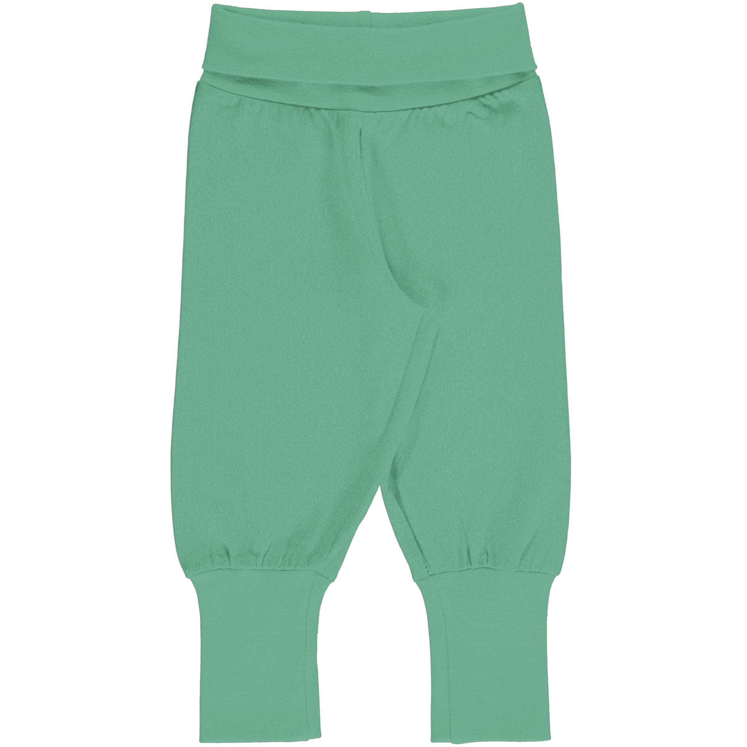 Meyadey by Maxomorra Baby Rib Pants Solid CASCADE 074/080