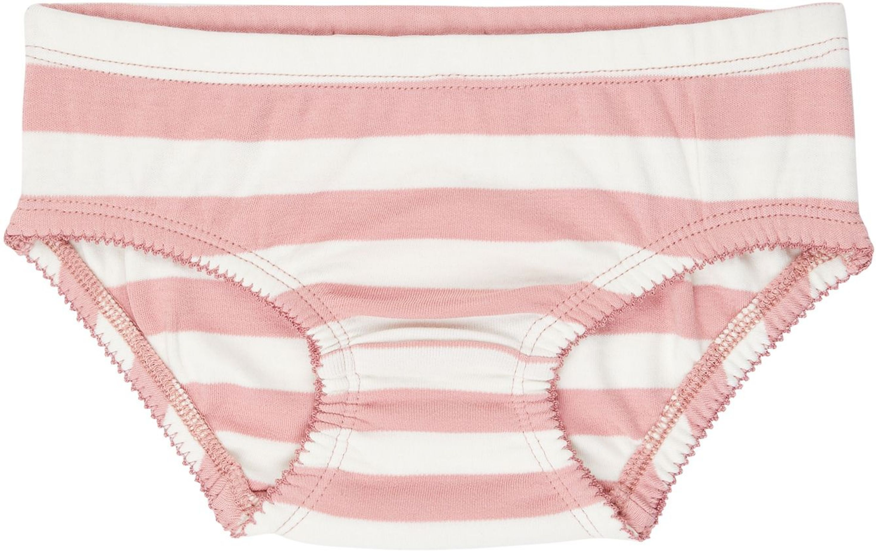 Sense Organic PARIS Slips - 2 Pack rose stripes