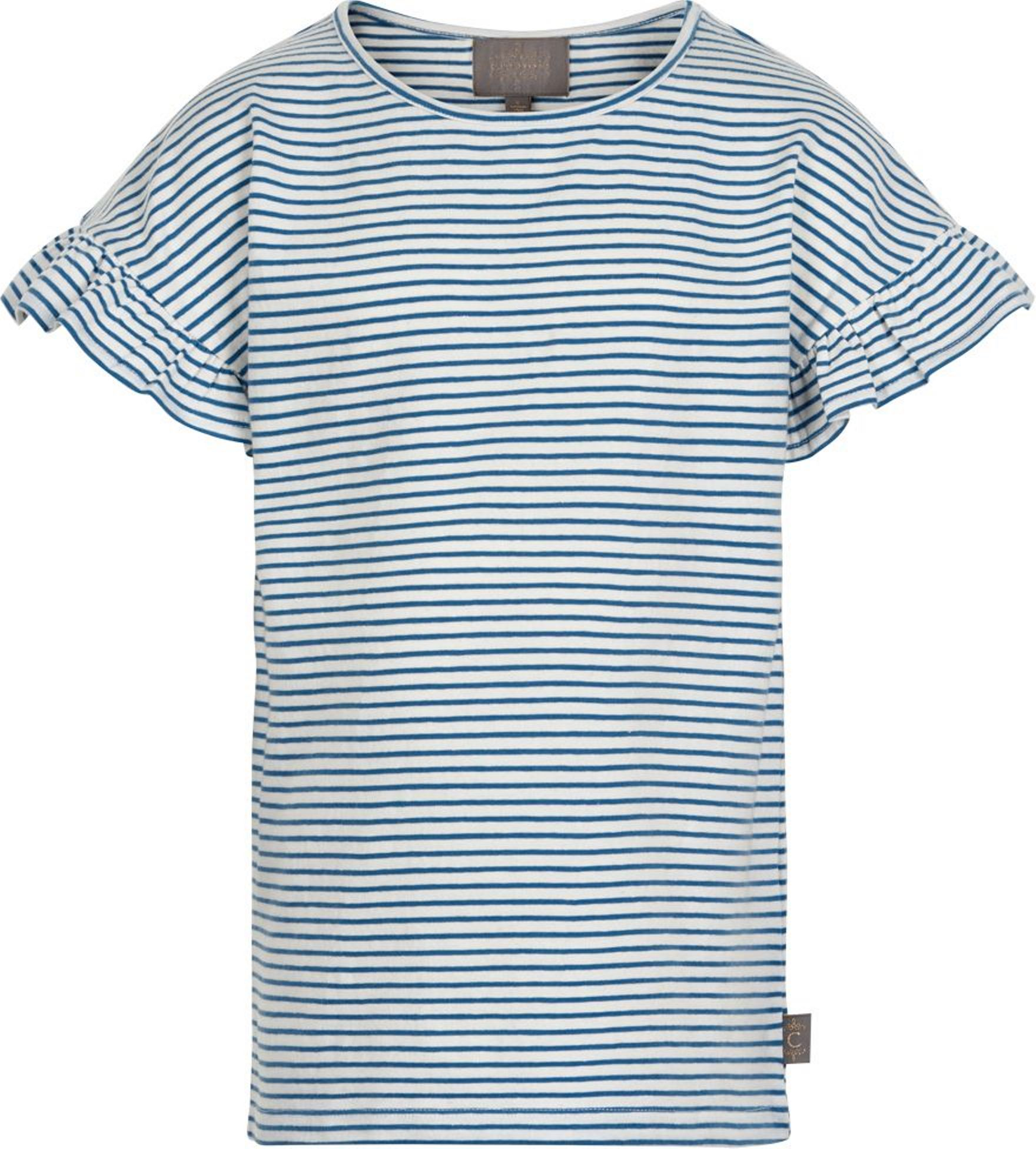 Creamie Kurzarmshirt Stripe infinity