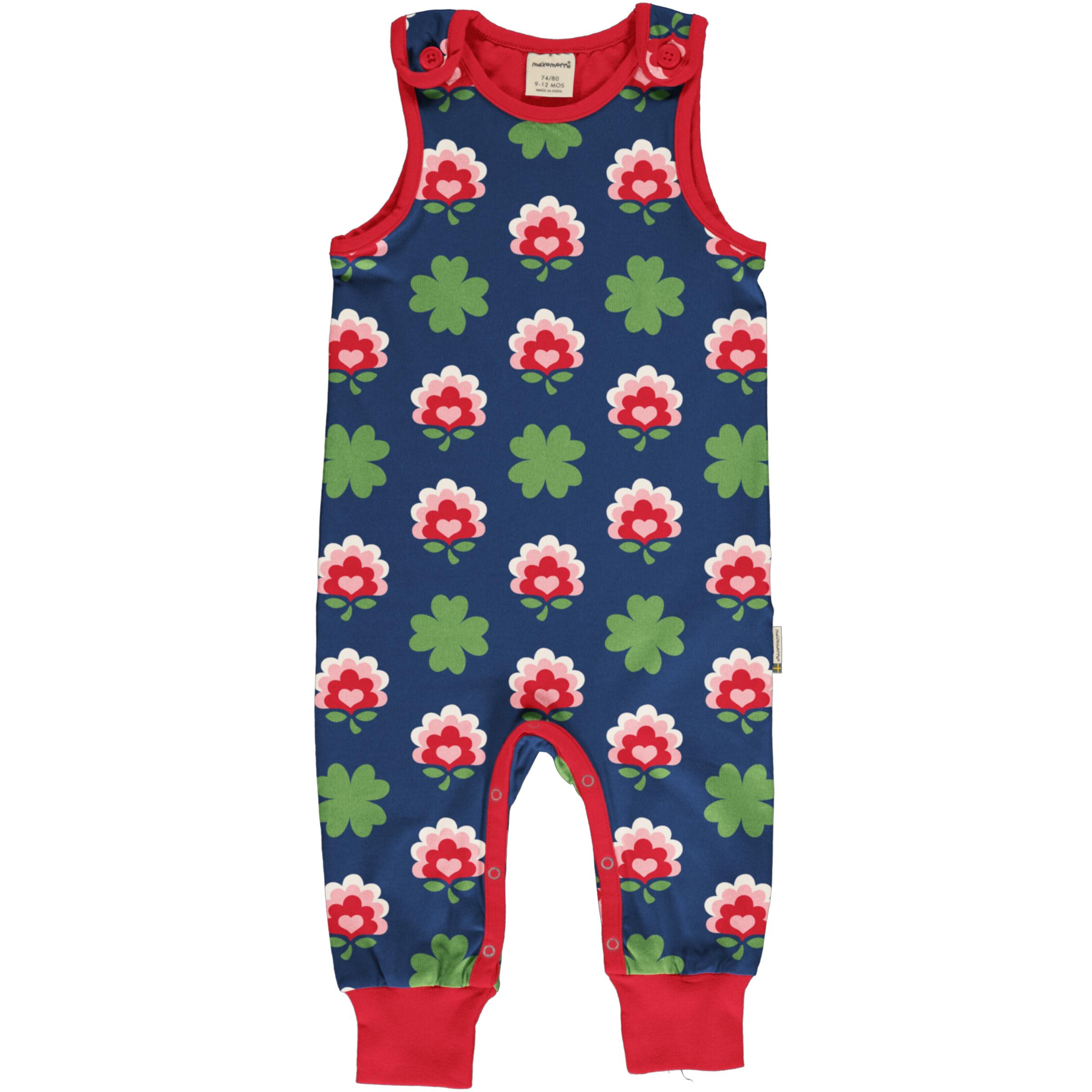 Maxomorra Baby Playsuit CLOVER 086/092
