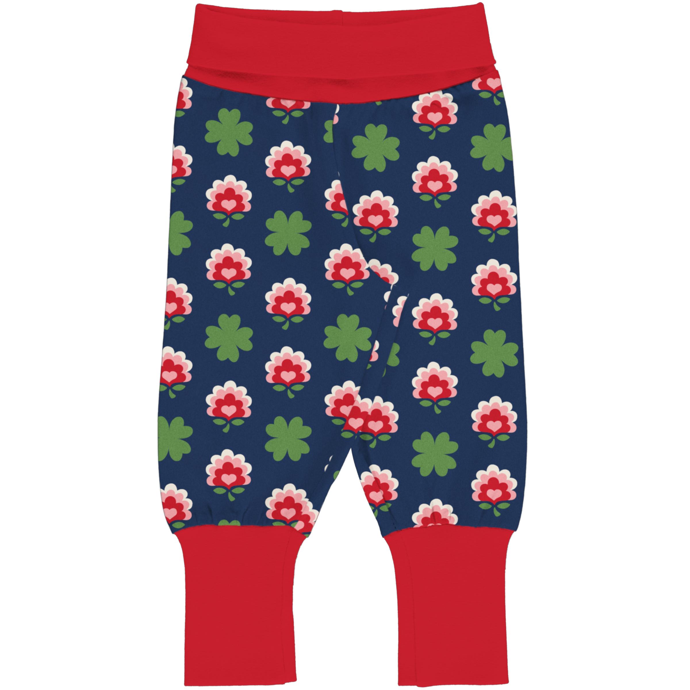 Maxomorra Baby Rib Pants CLOVER 086/092