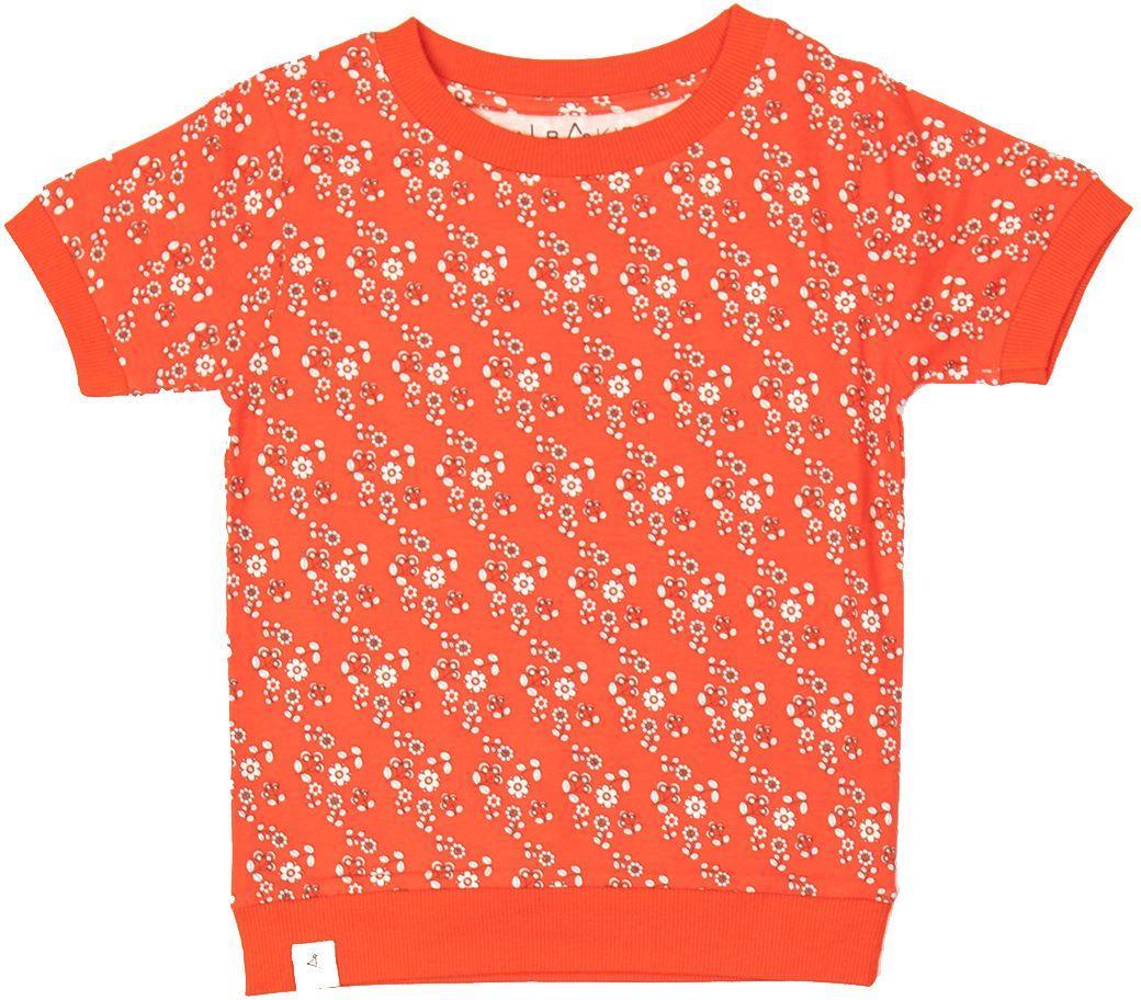 Alba of Denmark Girl T-Shirt Alberte orange