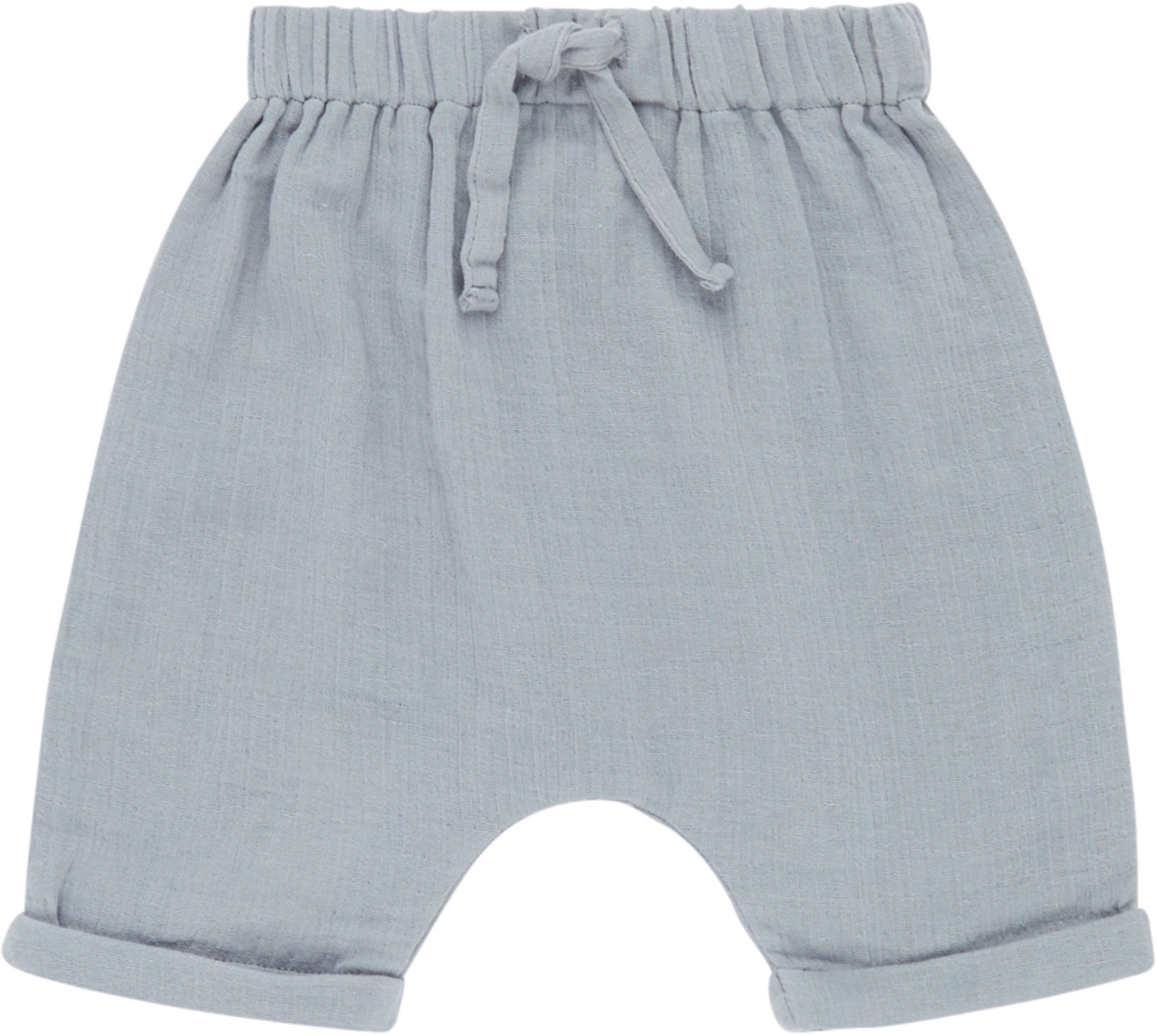 Sense Organic CHARLIE Baby Shorts Dusty Blue