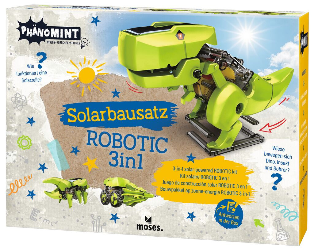Moses PhänoMINT Solarbausatz ROBOTIC